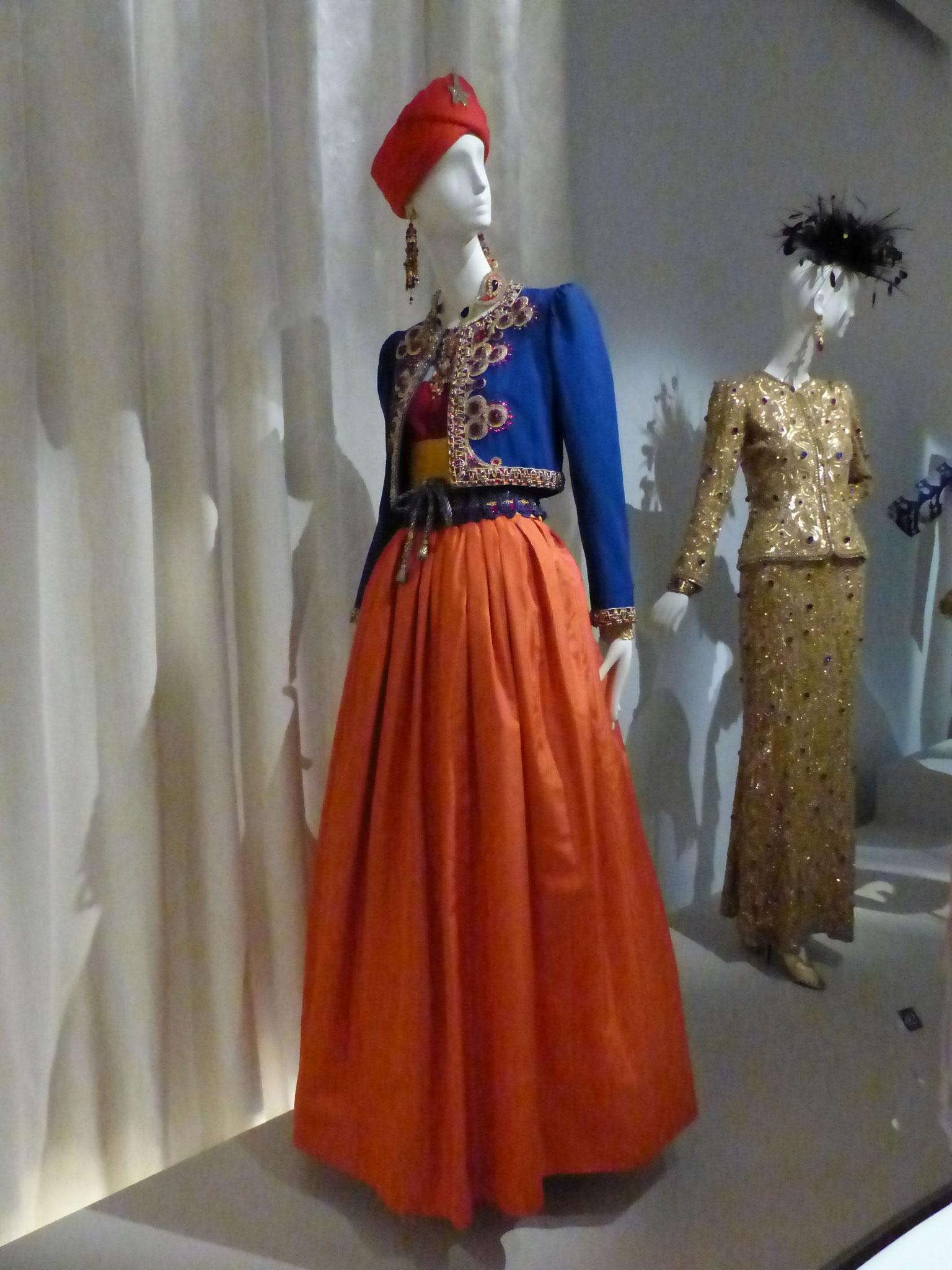 Veste et robe de gros grains de soie