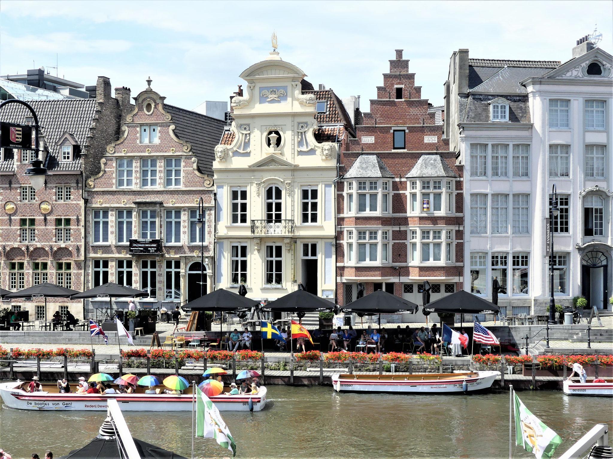 Croisière sur les canaux à Bruges