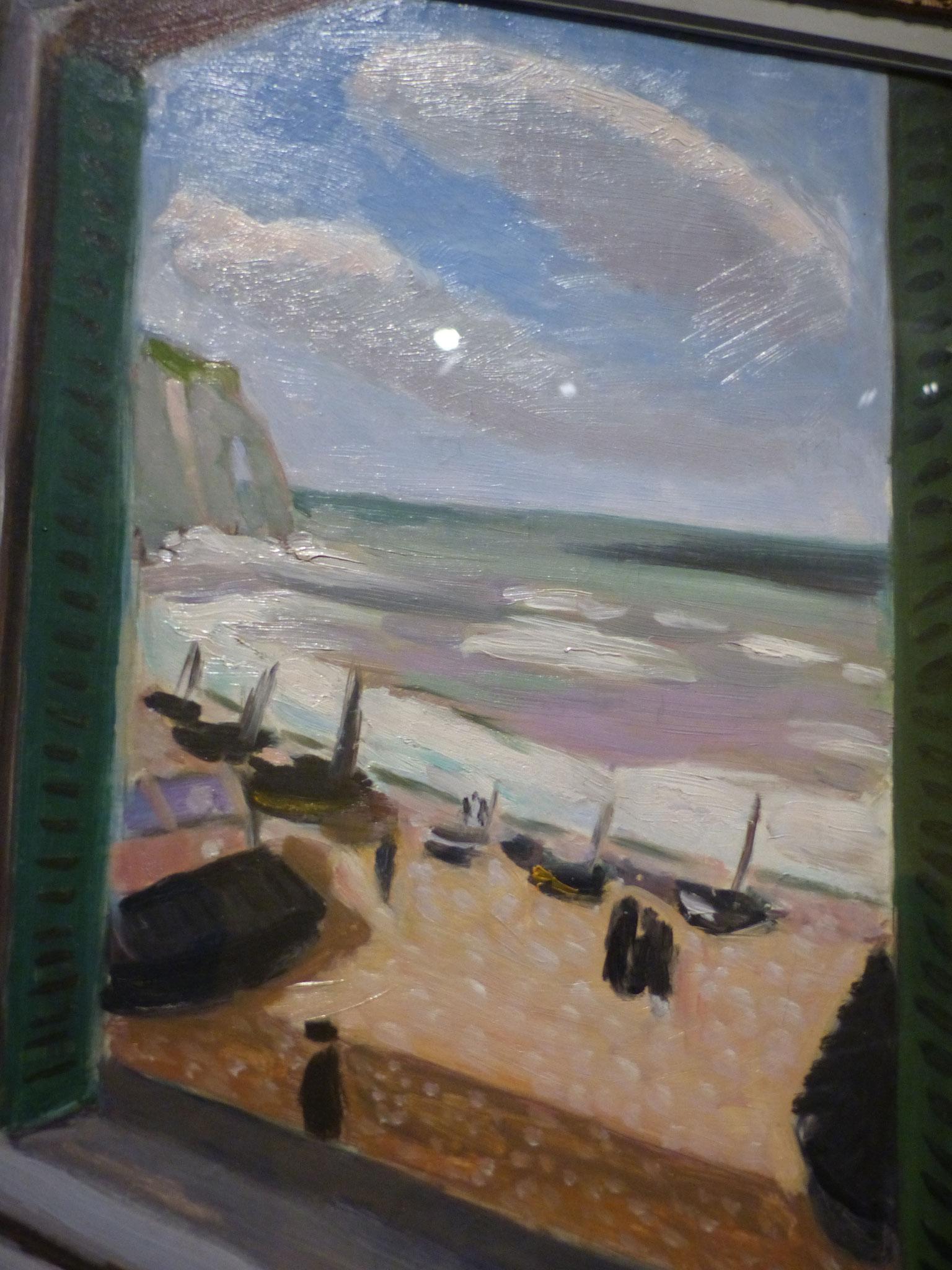 Henri Matisse - Fenêtre ouverte sur la mer à Etretat