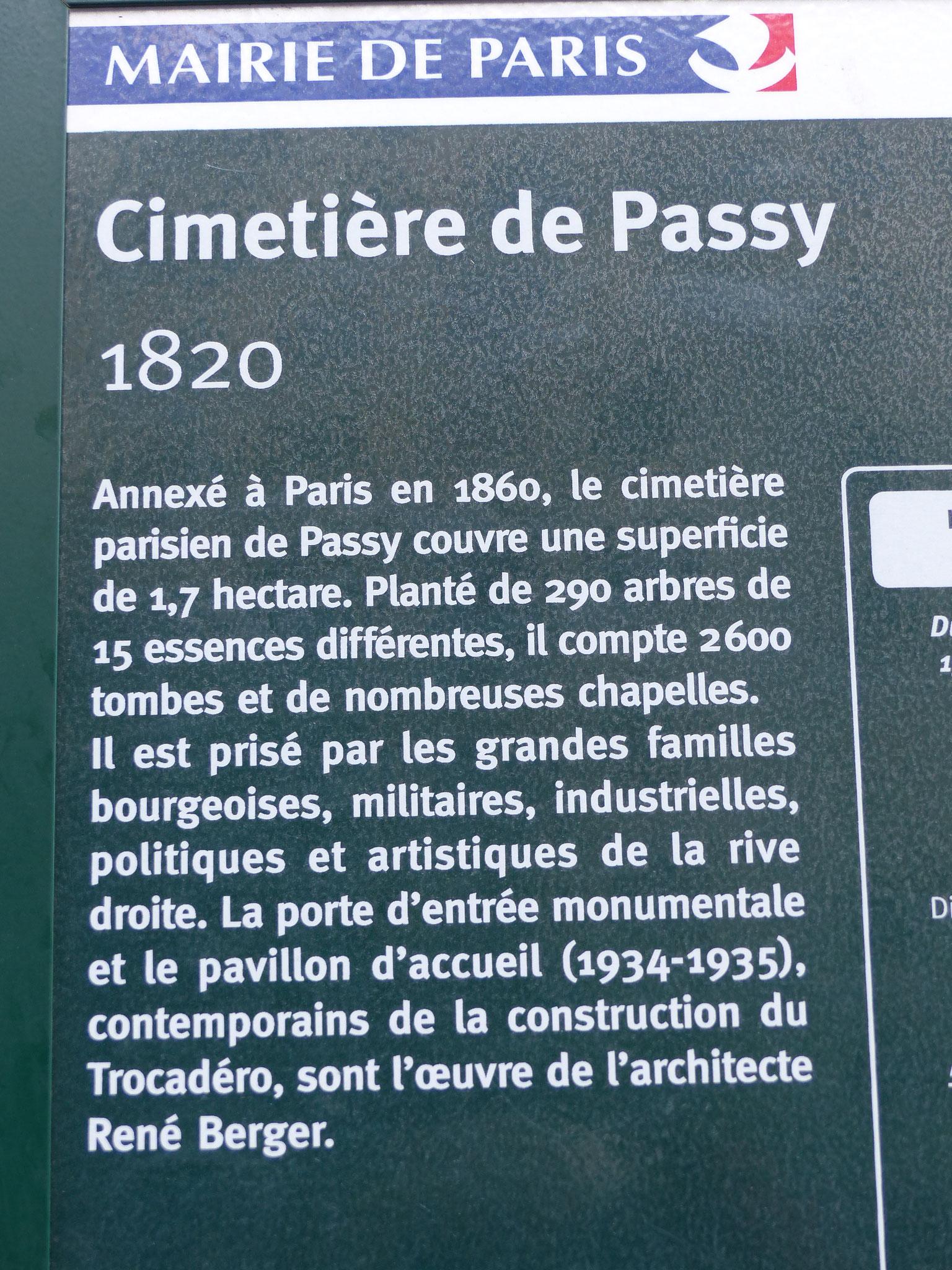 Cimetière de Passy