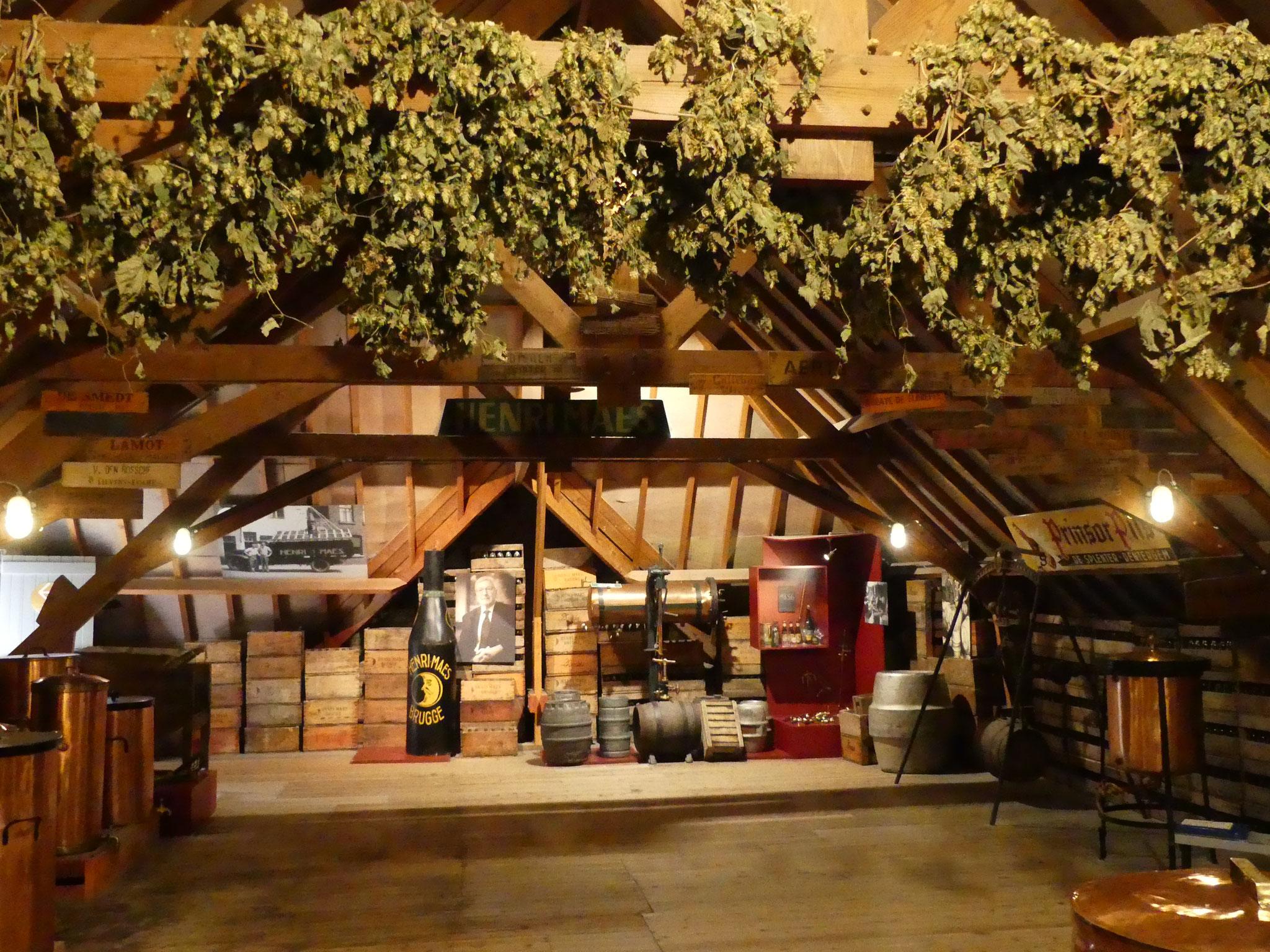 Visite d'une brasserie à Bruges