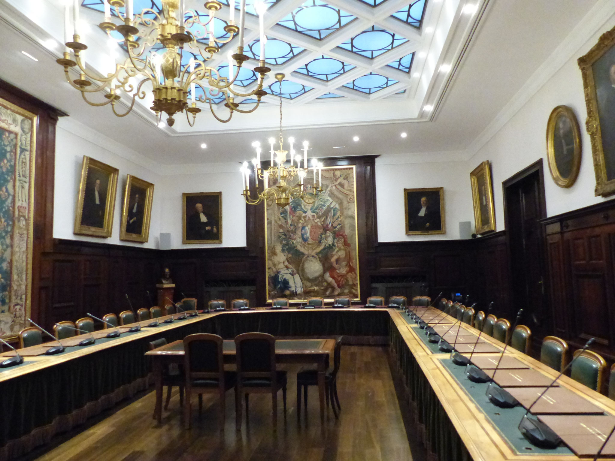 Salle de l'ordre des avocats