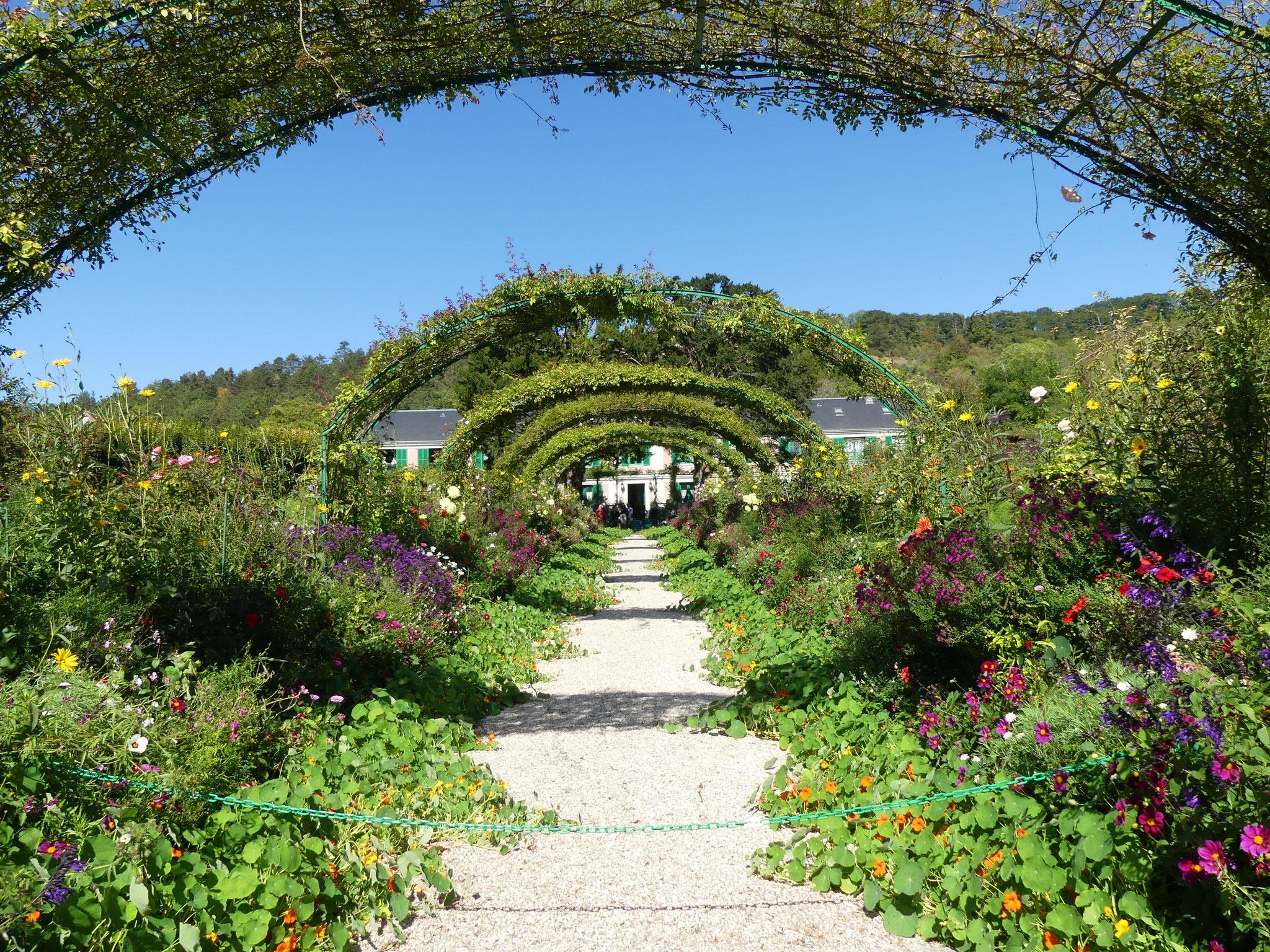 Allée Jardin Maison Monet