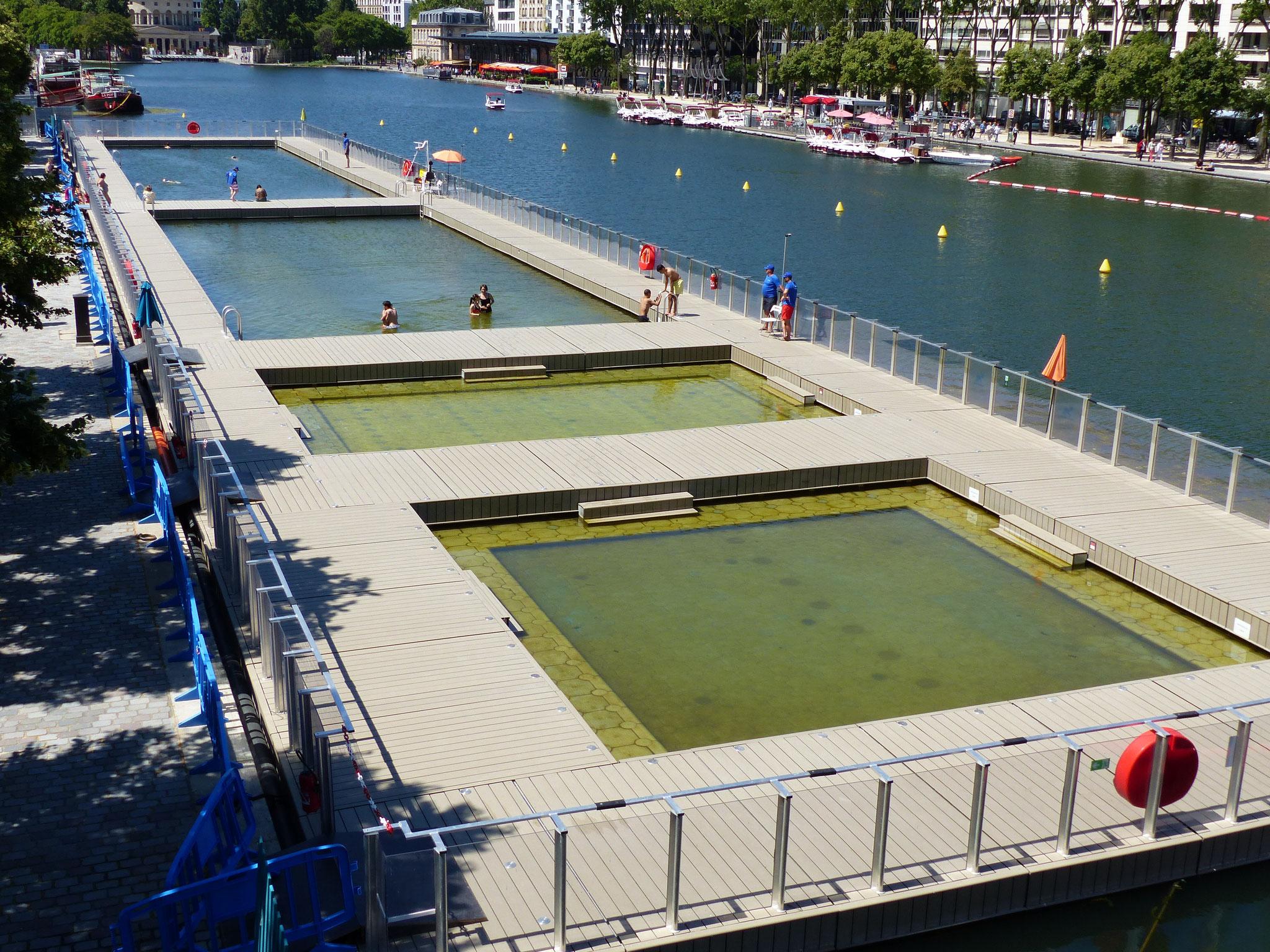 Bassin nautique de la Villette
