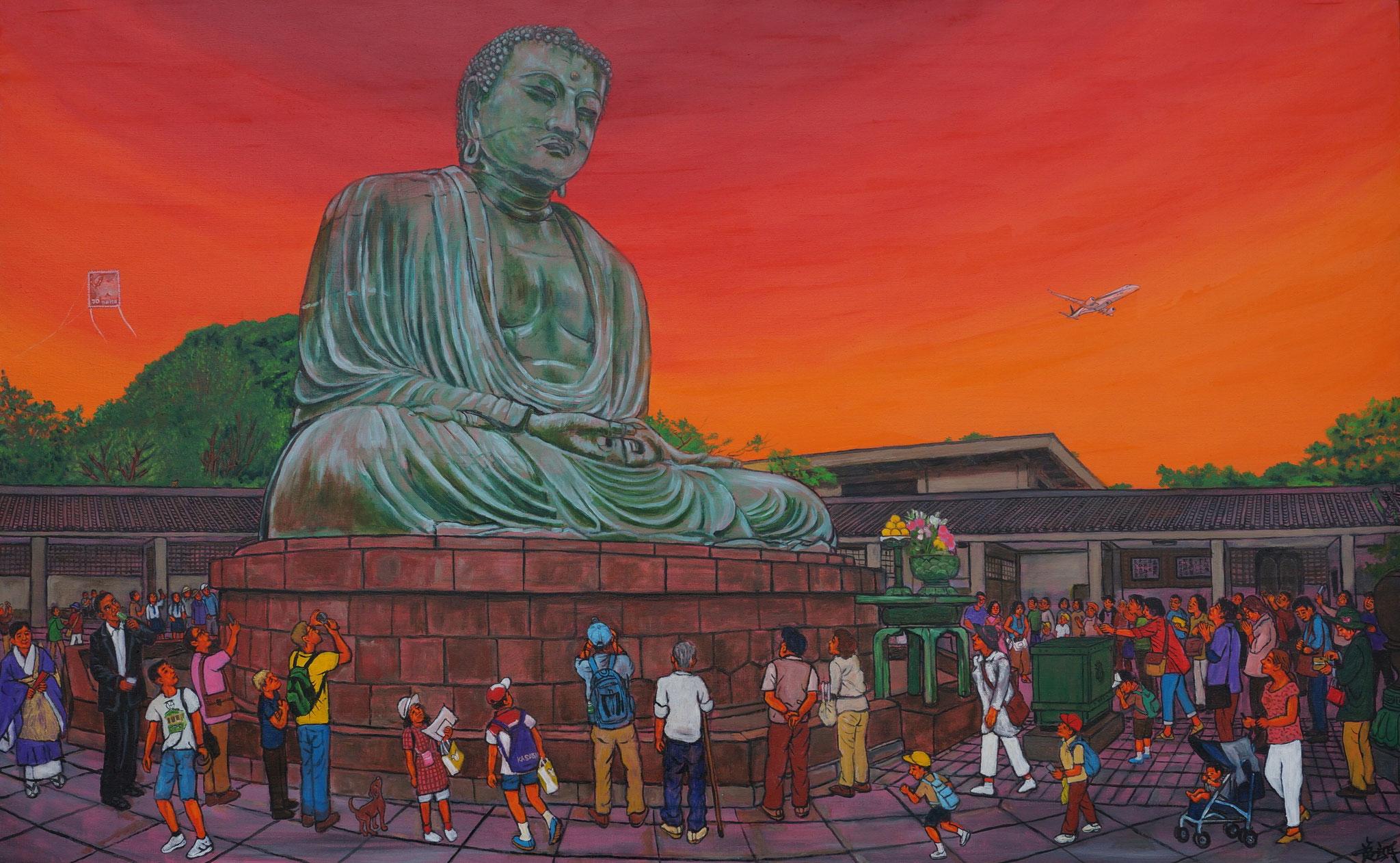 斎藤吾朗 鎌倉の大仏 / Goroh Saitoh  Kamakura Buddha