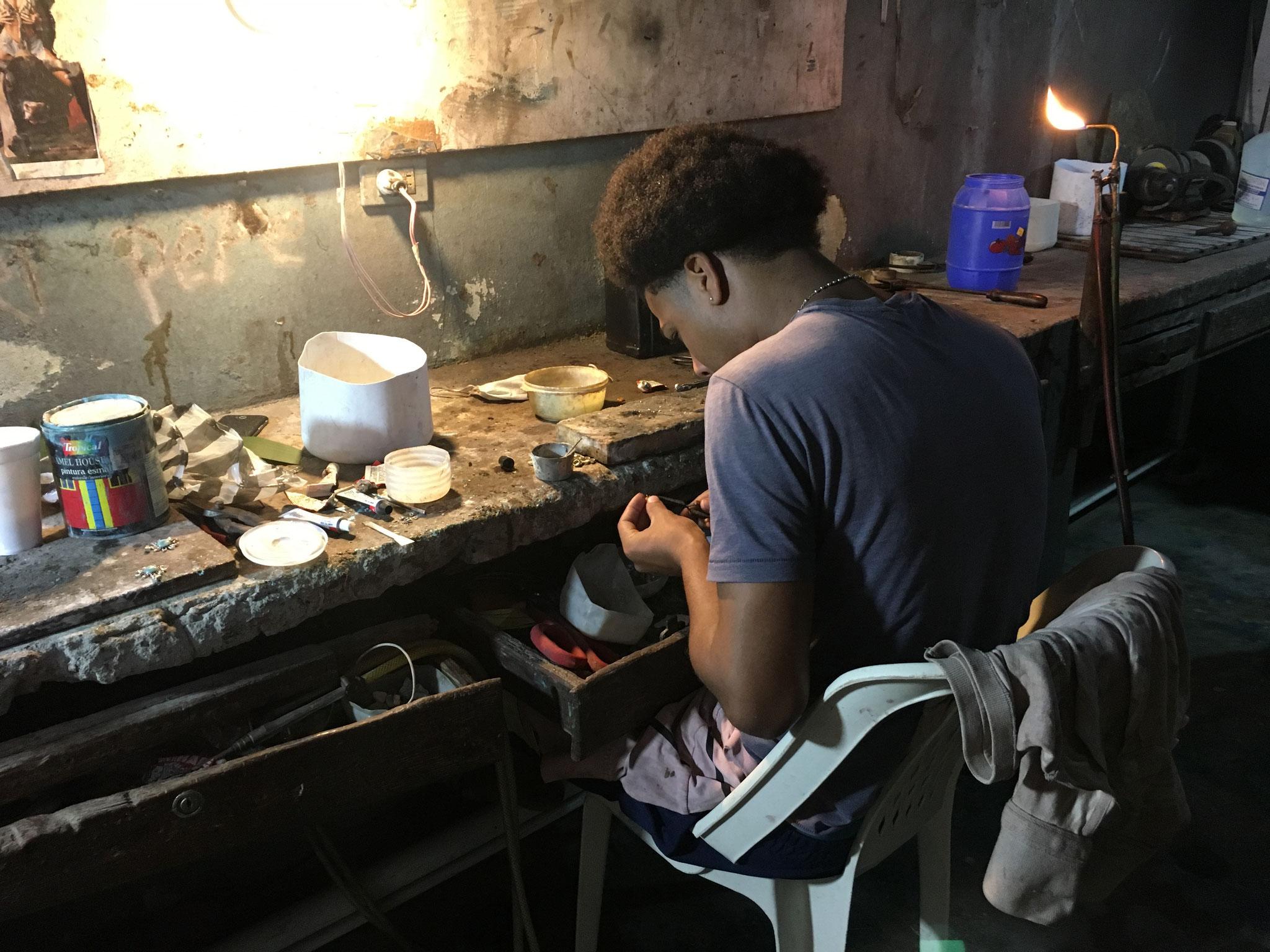 Schmuckherstellung
