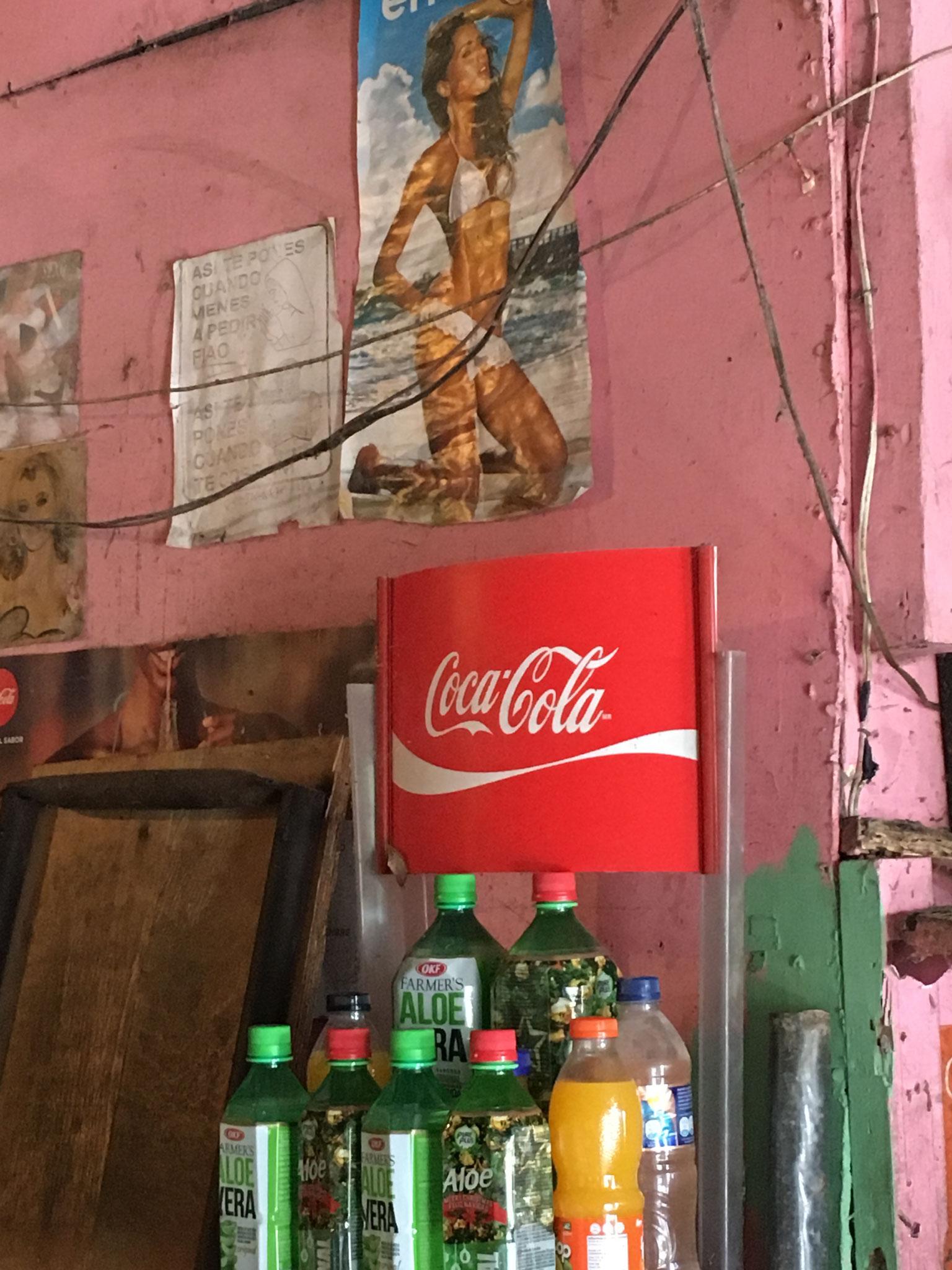 ..für Cola und mehr ist alles da!