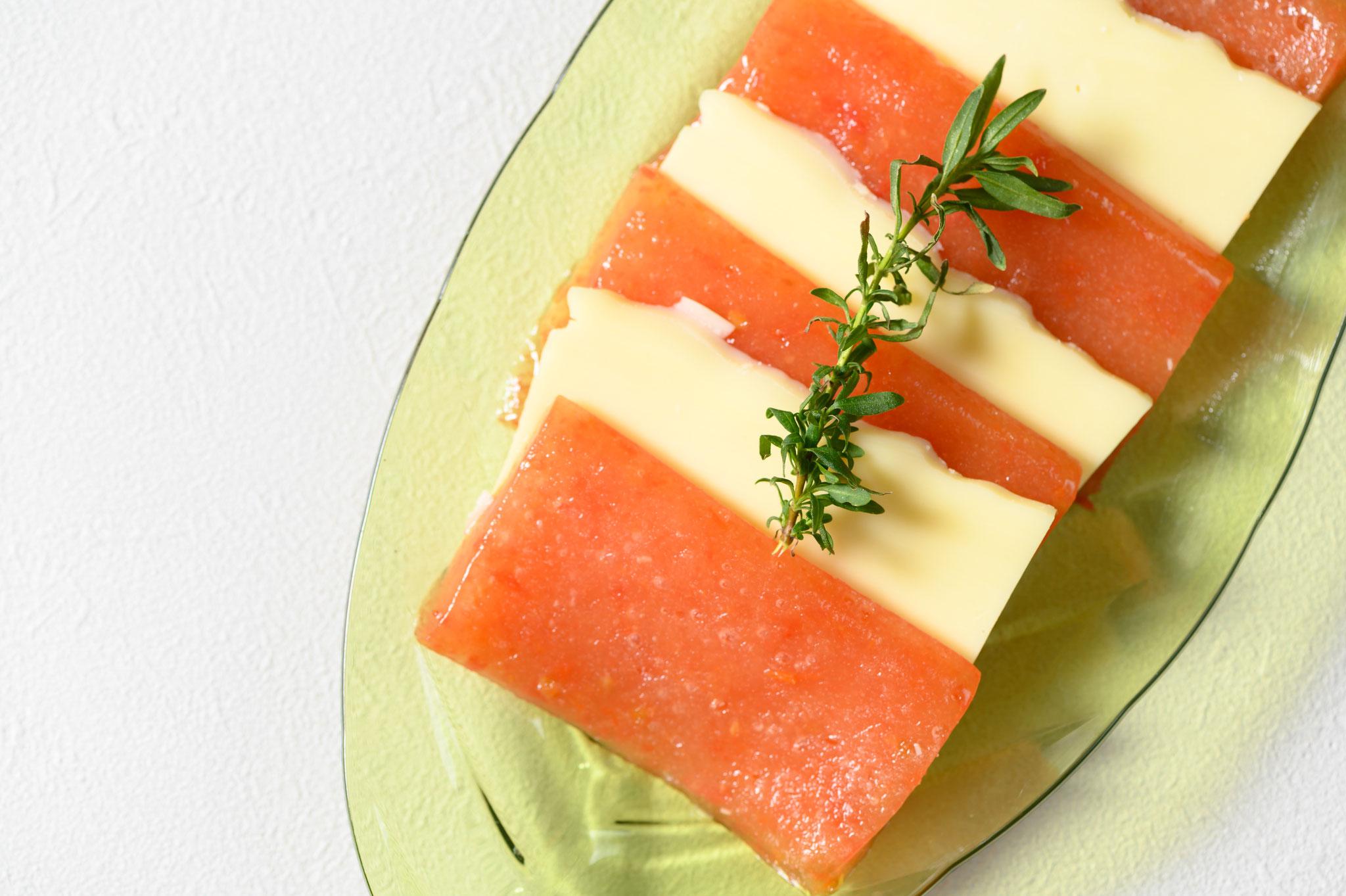 モッツァレラチーズとの相性も抜群!カプレーゼでお楽しみください。