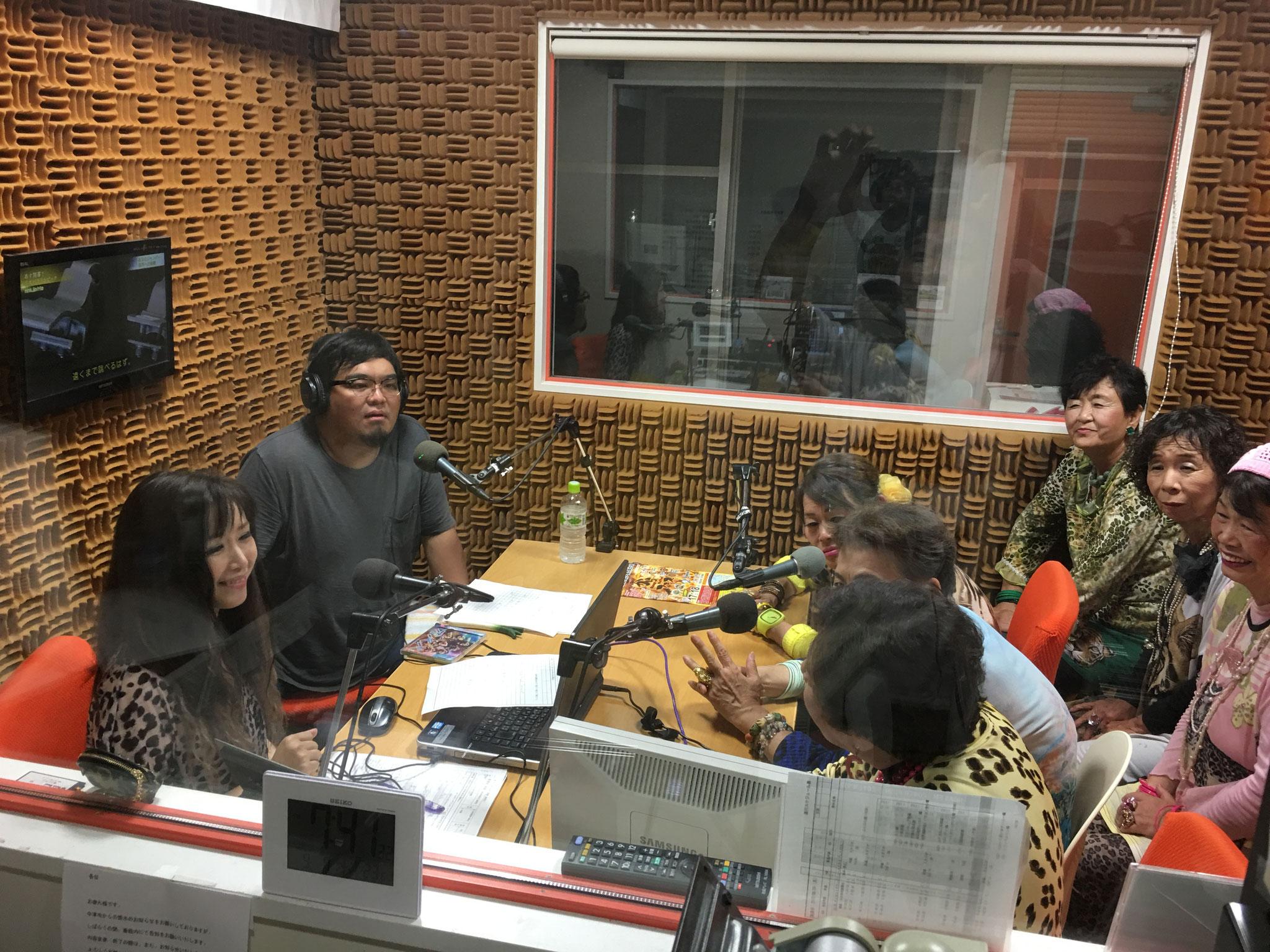 本田理沙さんのラジオに出演させてもらいました!