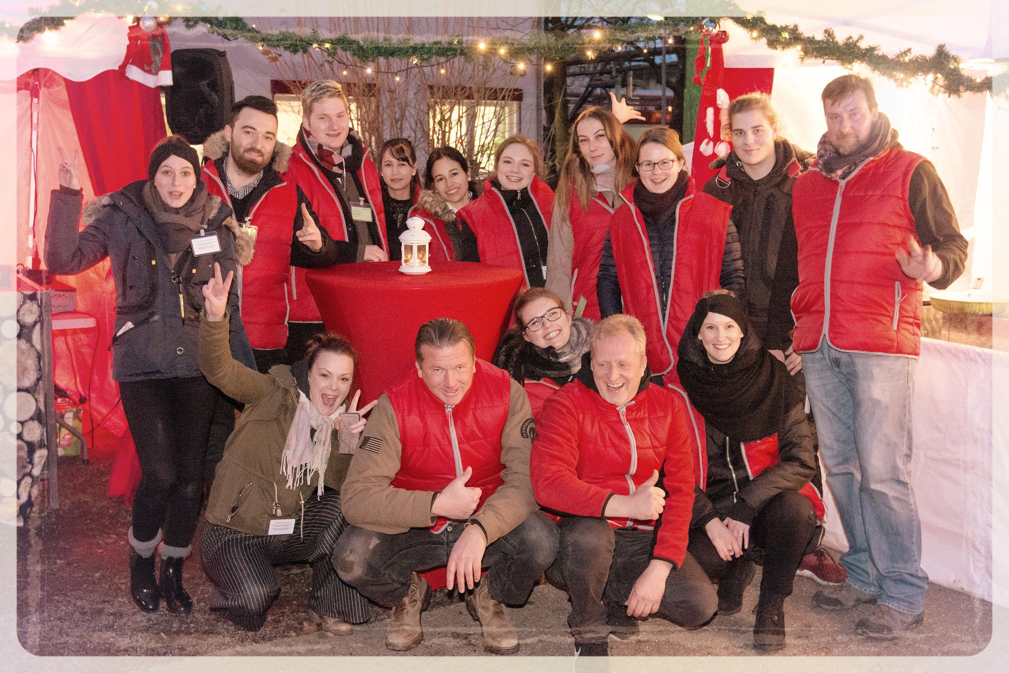 Der Team vom mobilen Weihnachtsmarkt wünscht viel Spaß
