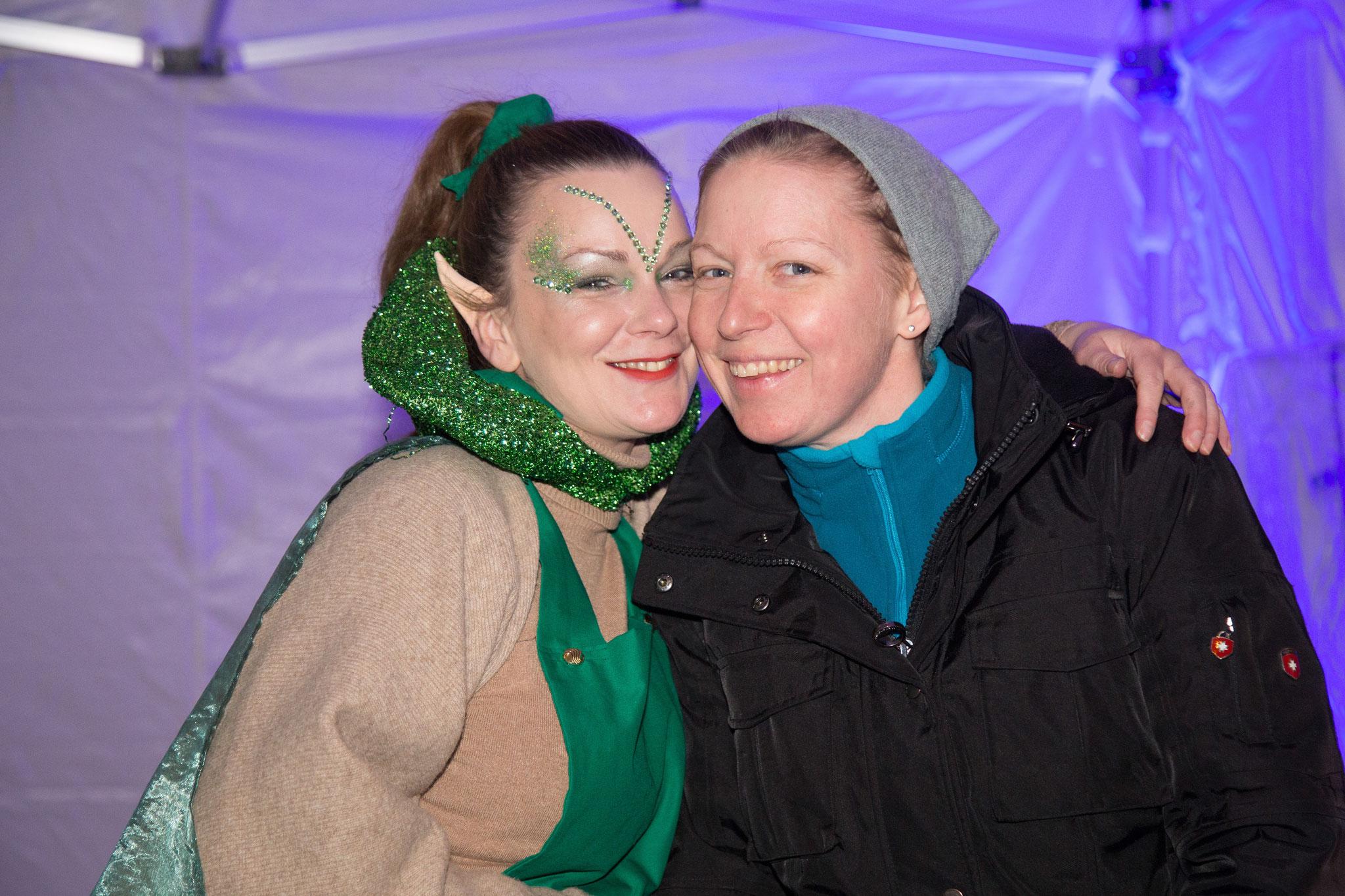 zauberhafte Elfin und Gast