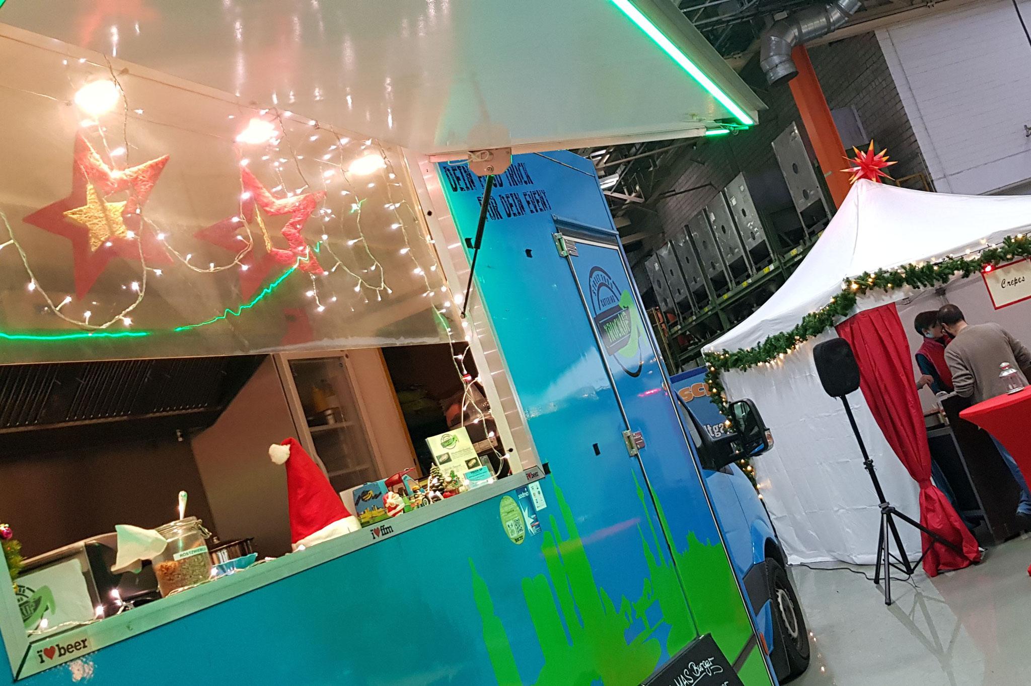 <h2> NEU! Streetfood Weihnachtsmarkt </h2> Die neue Art Weihnachten zu feiern!