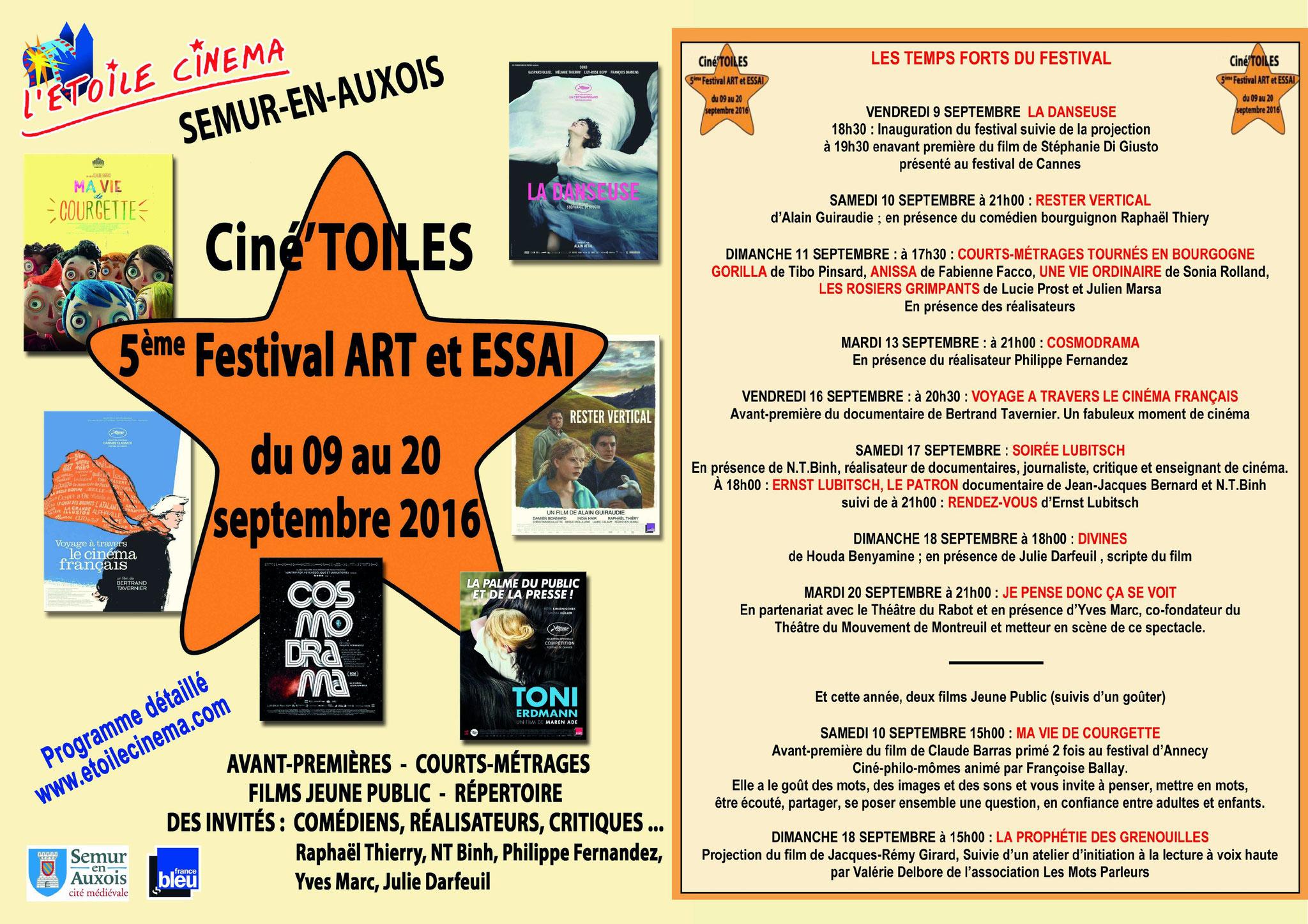 Festival Ciné'toiles 2016