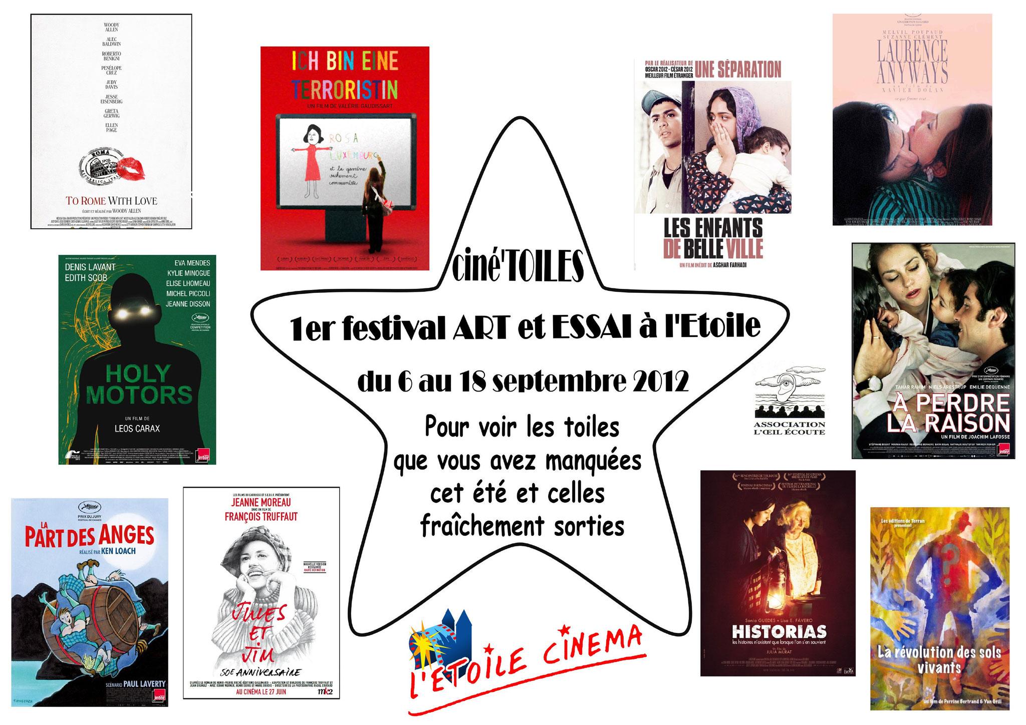 Festival Ciné'toiles 2012