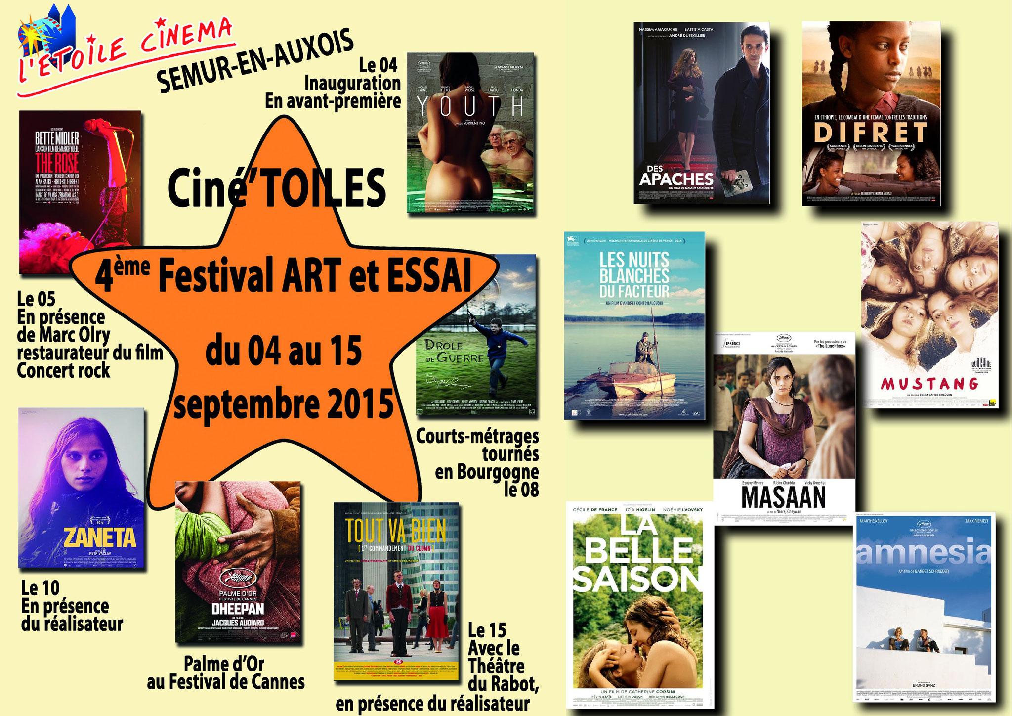 Festival Ciné'toiles 2015