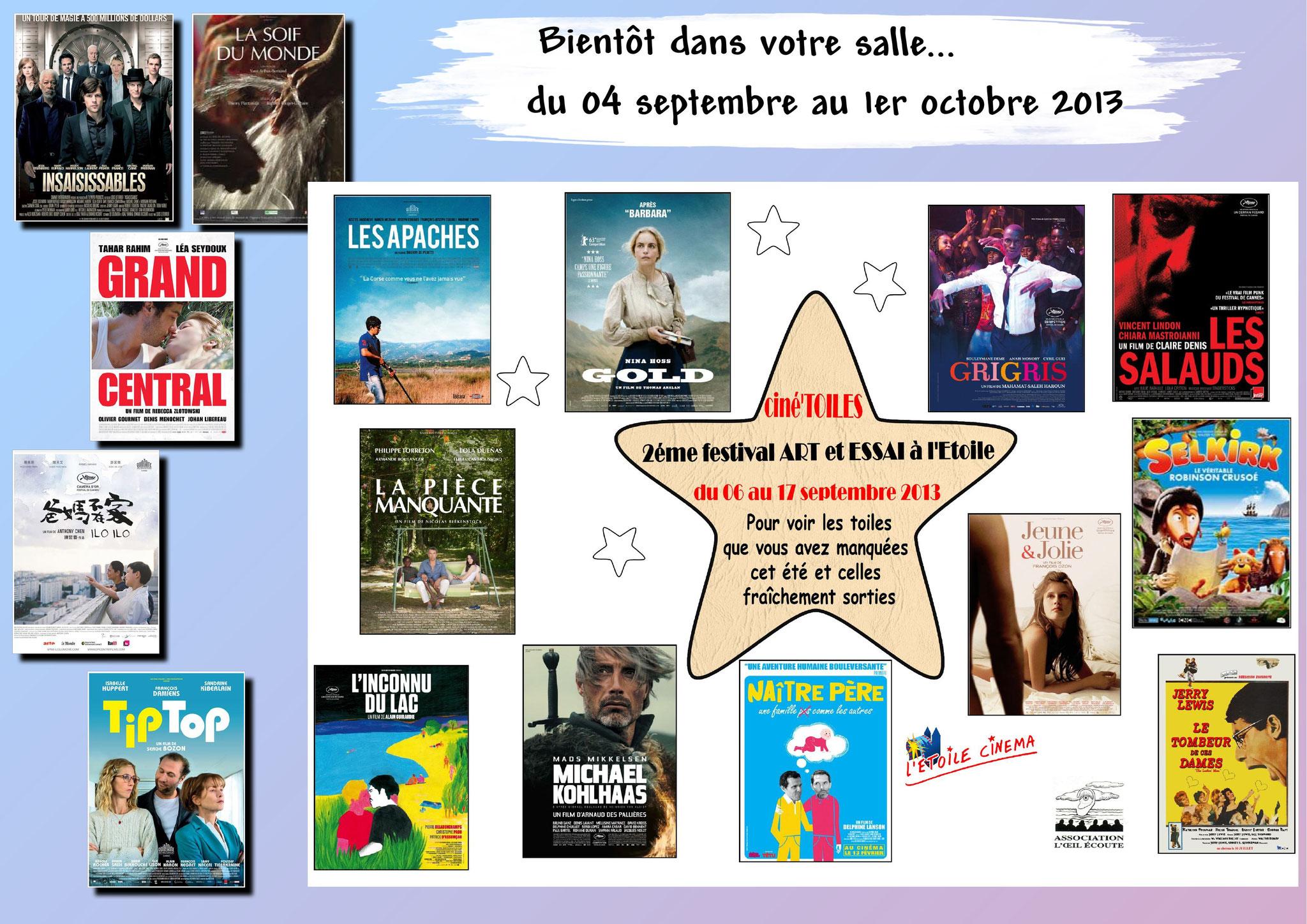 Festival Ciné'toiles 2013