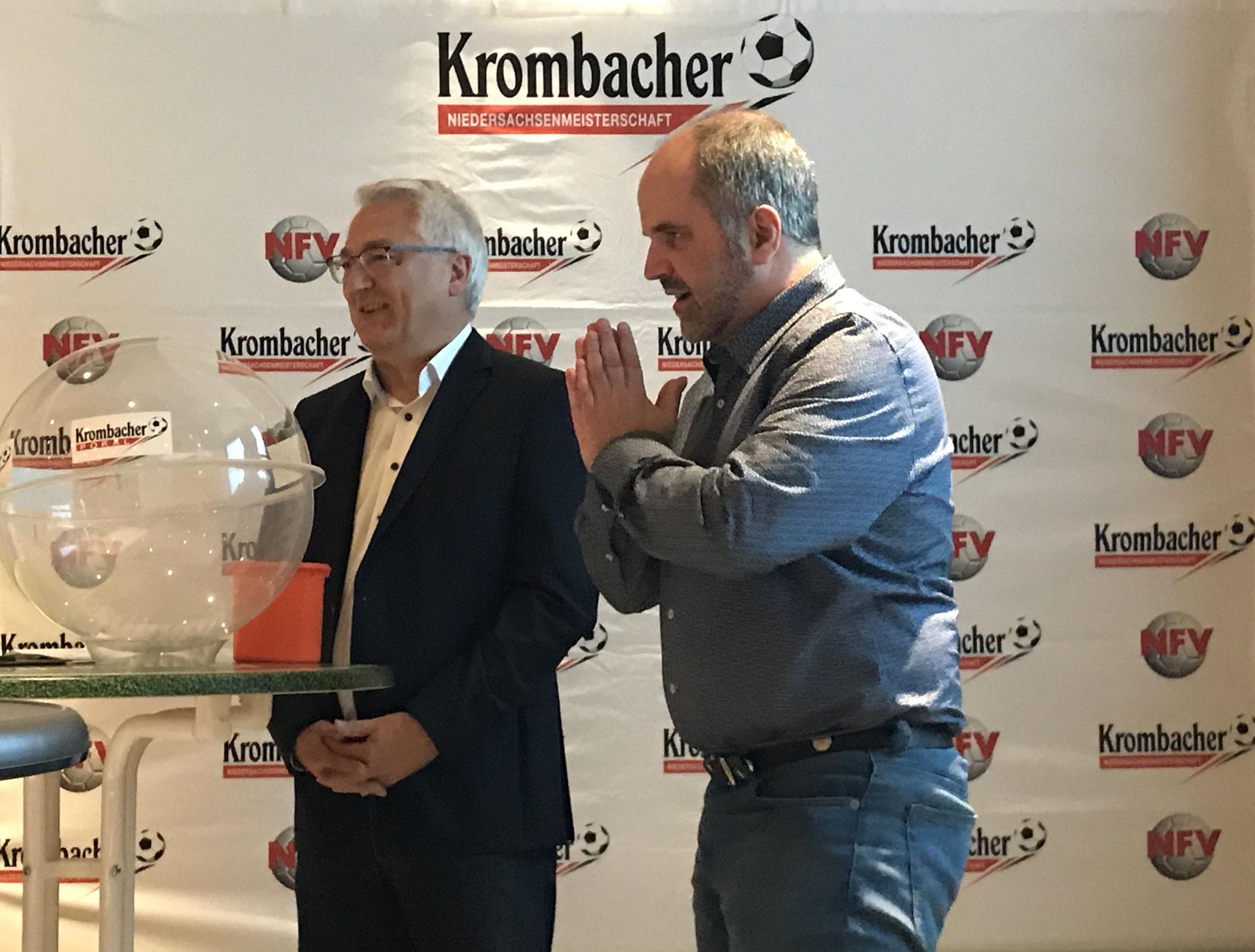 Grußworte Kreisvorsitzender Andreas Henze und Jürgen Düver