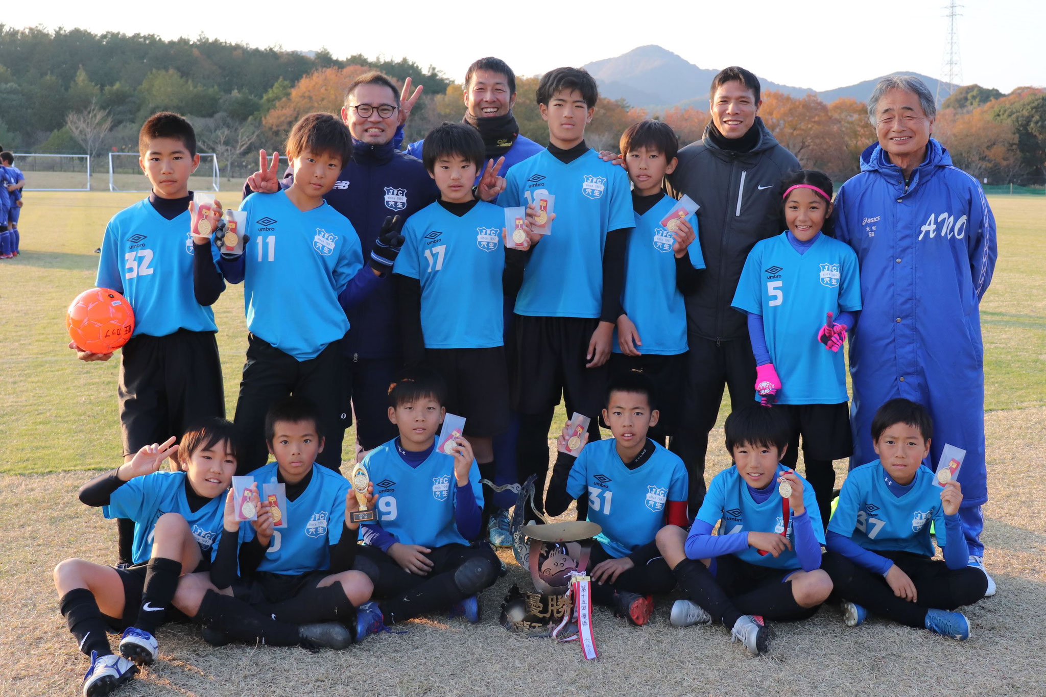 2019/12/8 U-12龍王カップ 優勝!!!