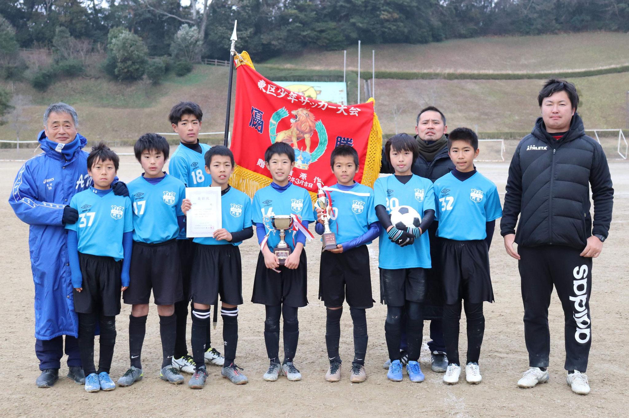 2020/1/19 U-12今村杯   優勝!