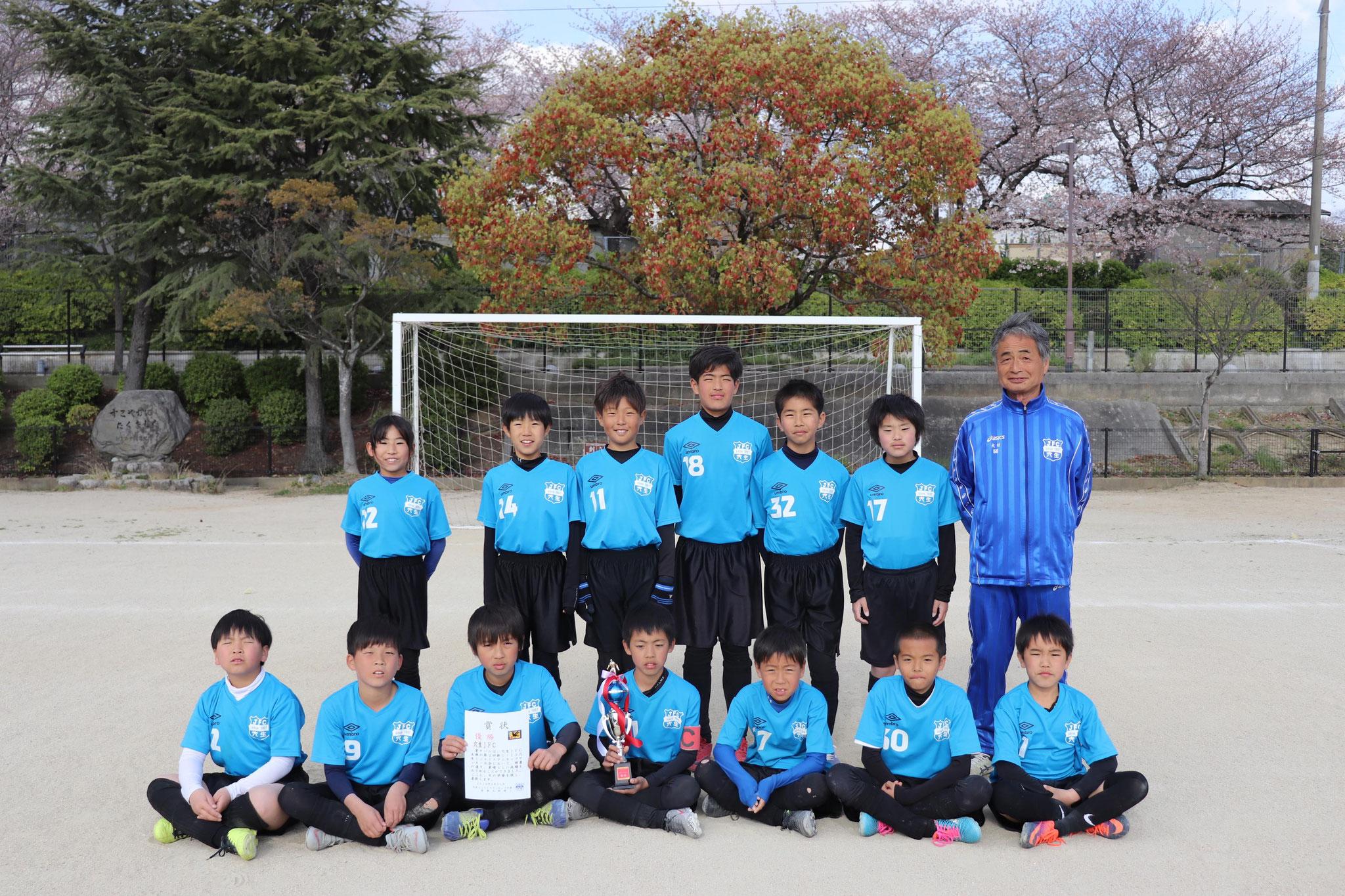 2019/3/31 U-12ミニエイトマンカップ 優勝!!!