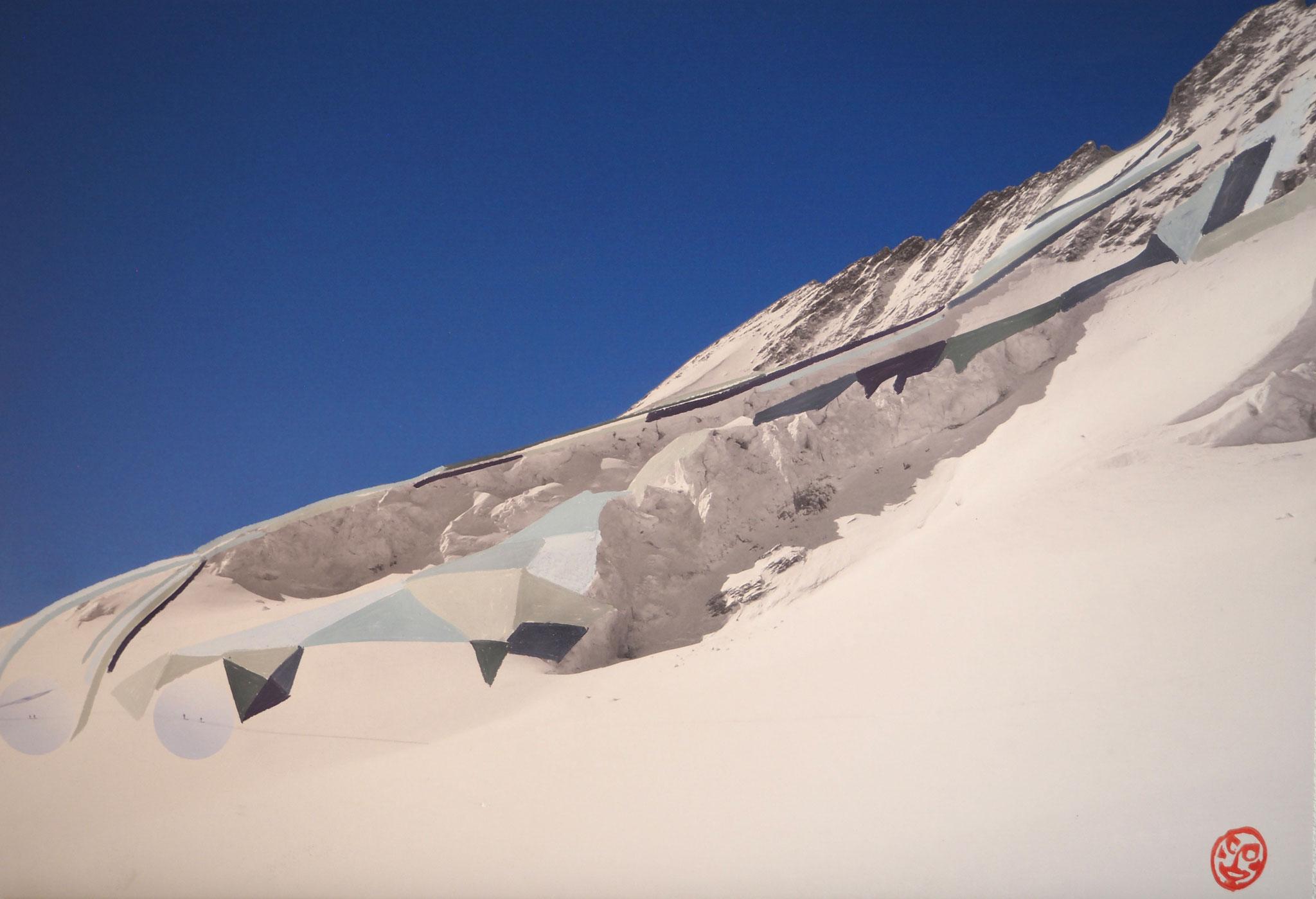 Bluebärg 95cmx65cm - Trugberg 3933m