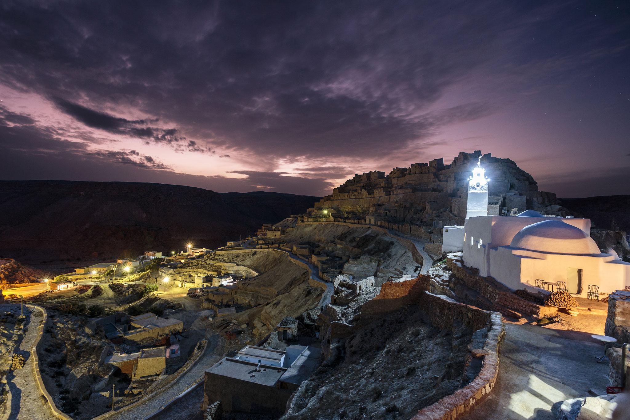 Chenini by Night.