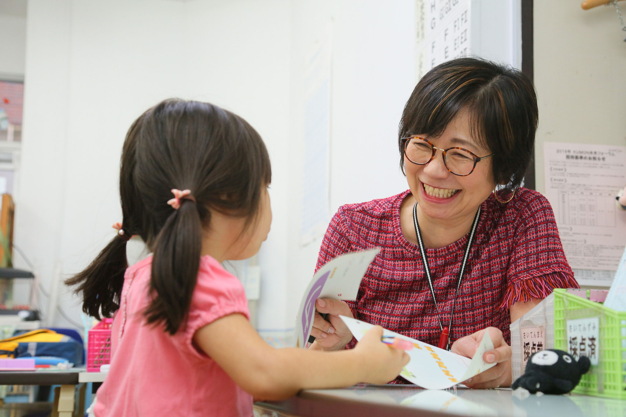 2才でも小学生と学習ができますよ!(3歳になり文字も数字も読めて書けるようになりました)