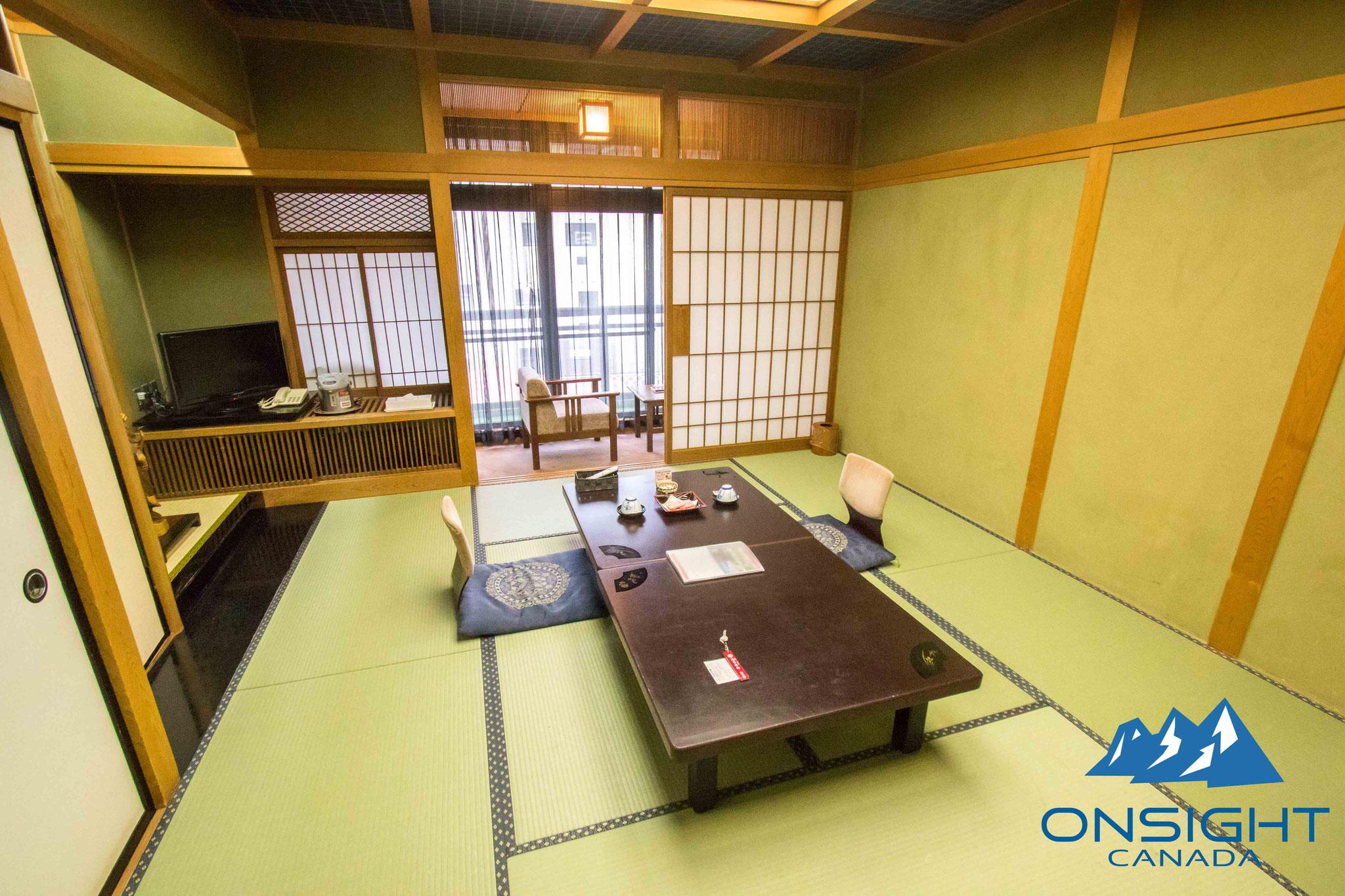 Fancy tatami room