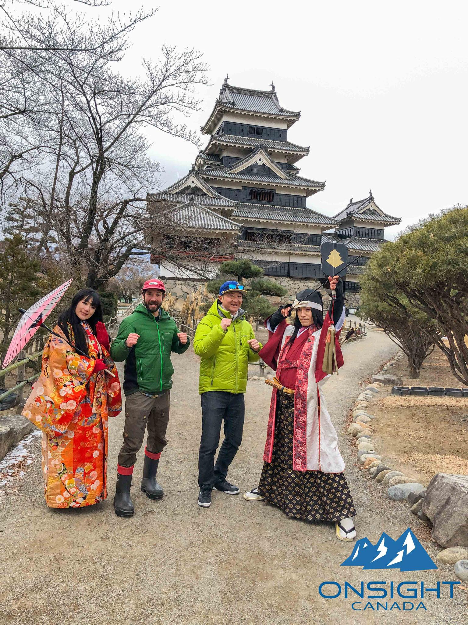 Visiting Matsumoto castle