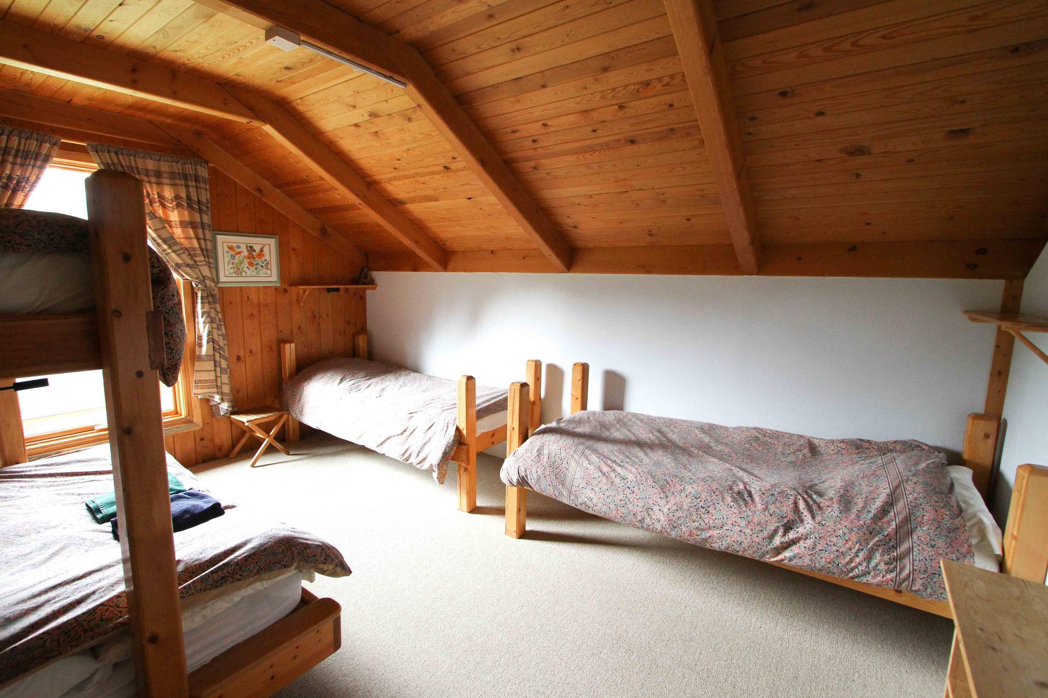 清潔なベッドルーム