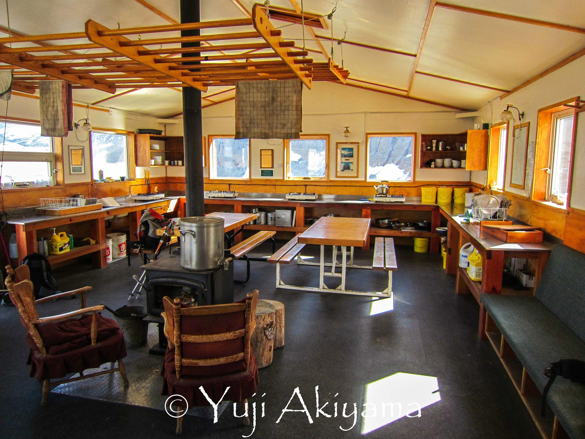 ボウハットの快適なキッチン、リビングスペース