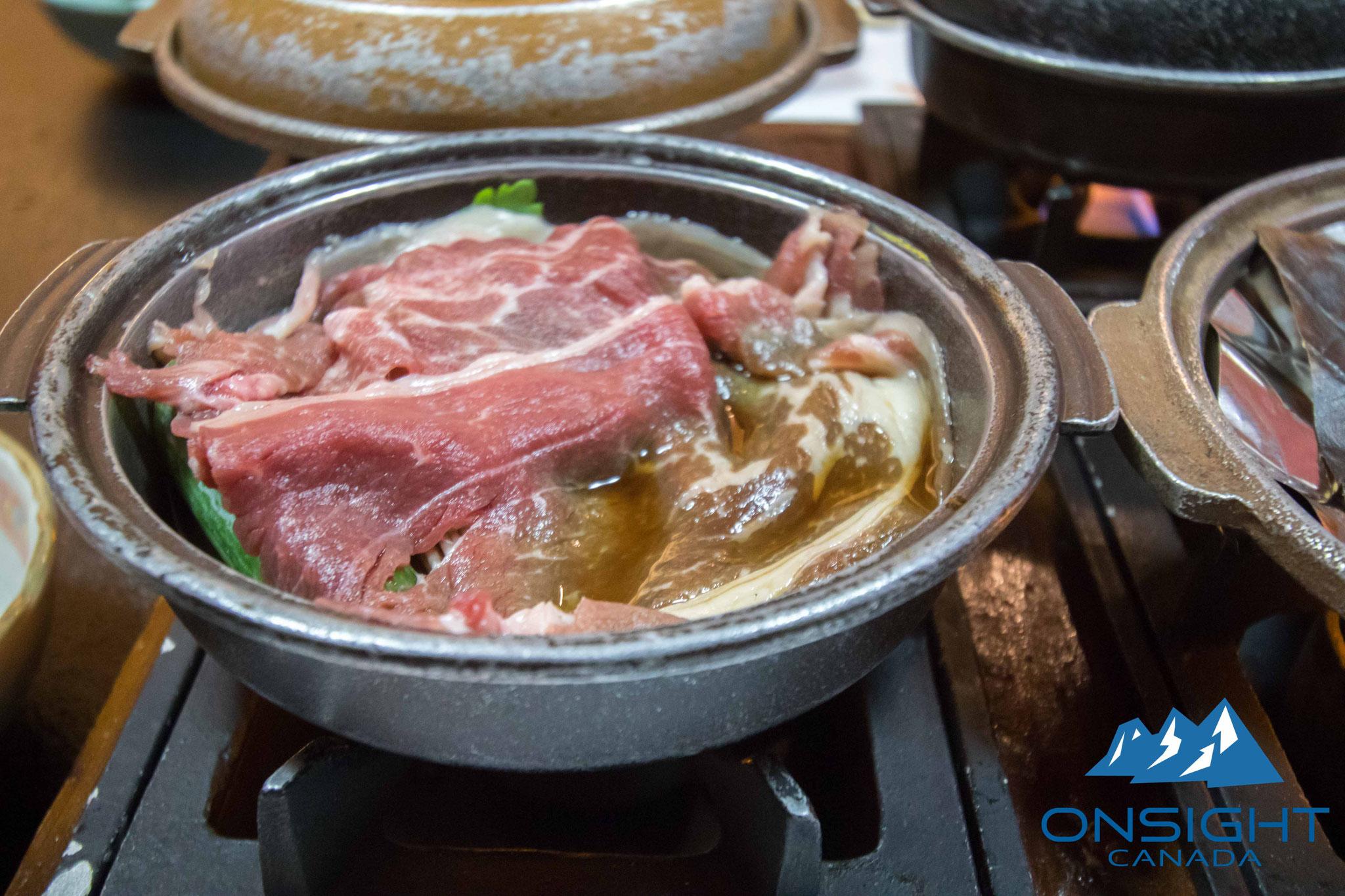 Beef hot pot