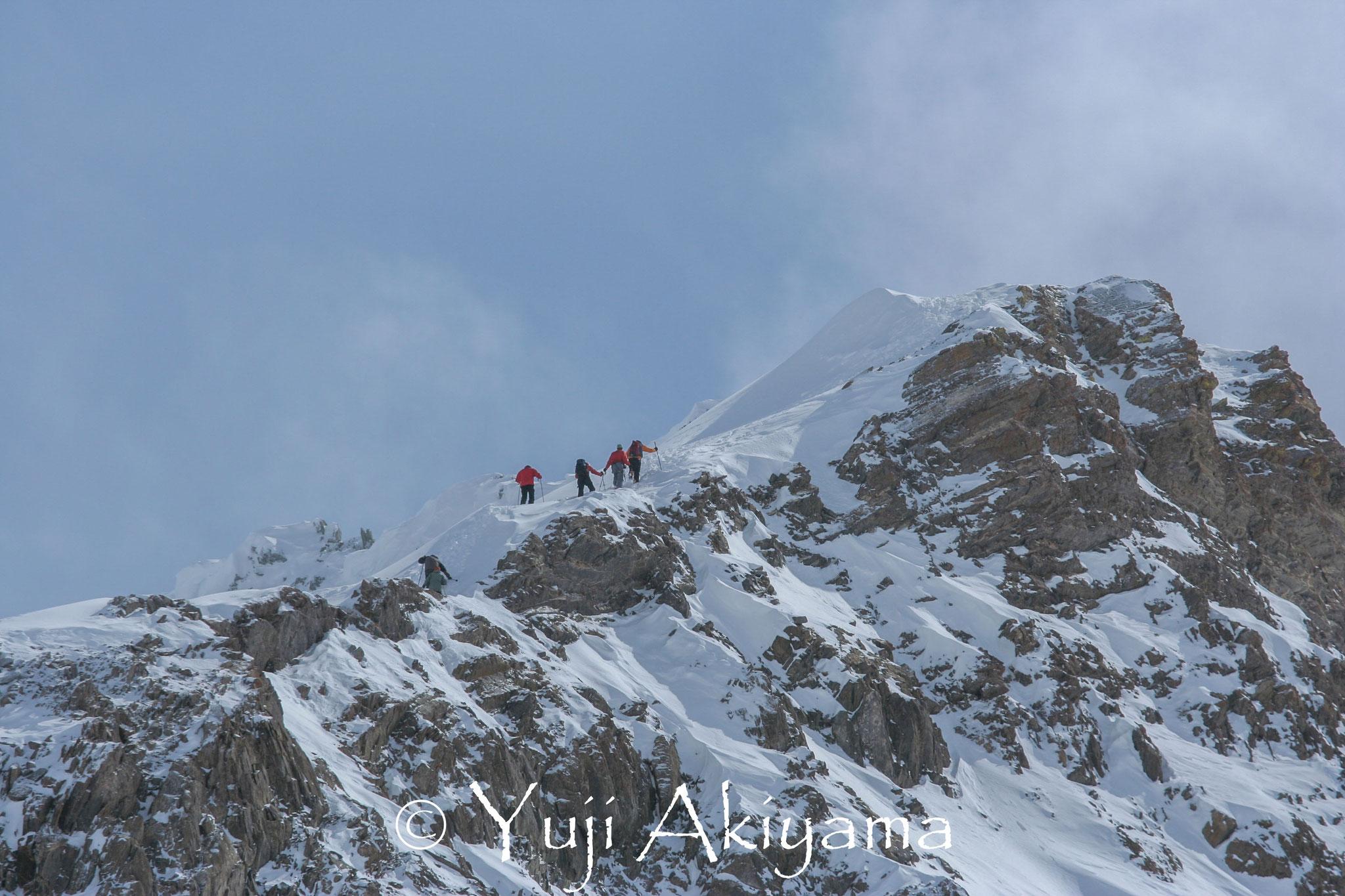 マウント・オリーブへの登山も可能