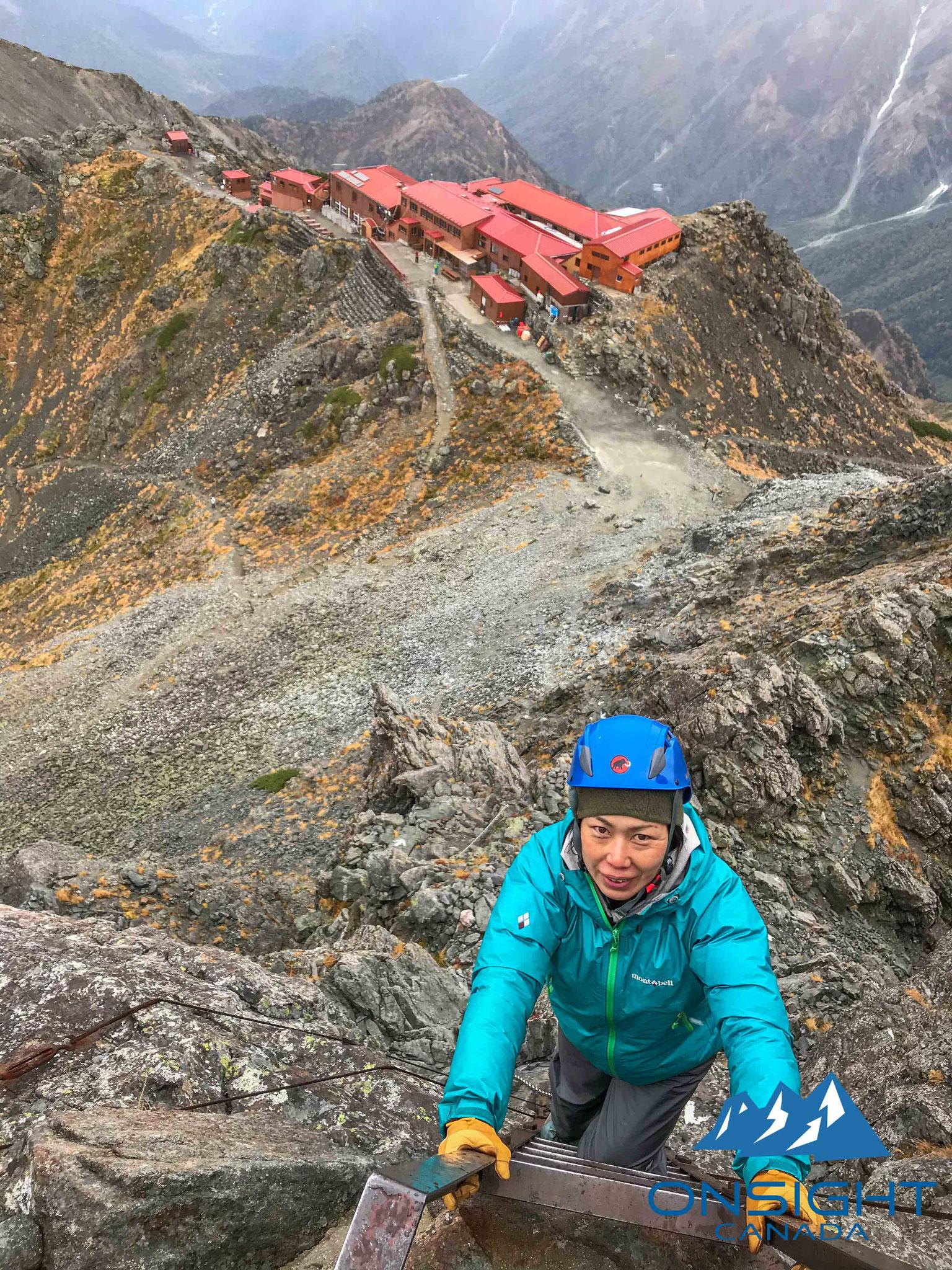 Attempting Mt. Yari