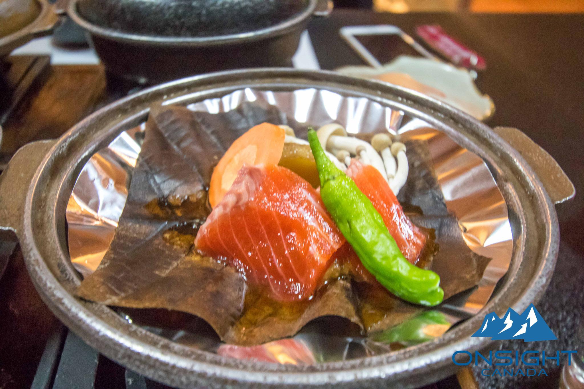 Salmon & miso
