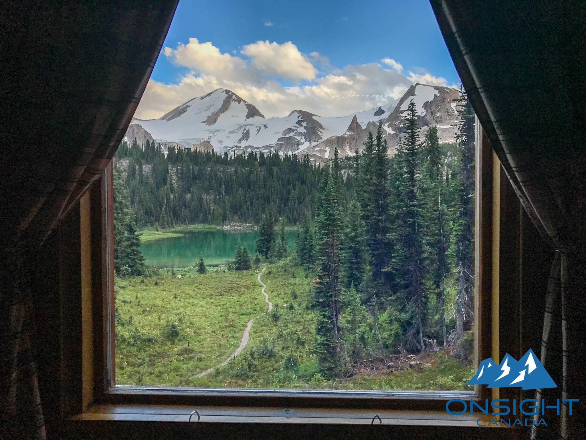 部屋からの景色
