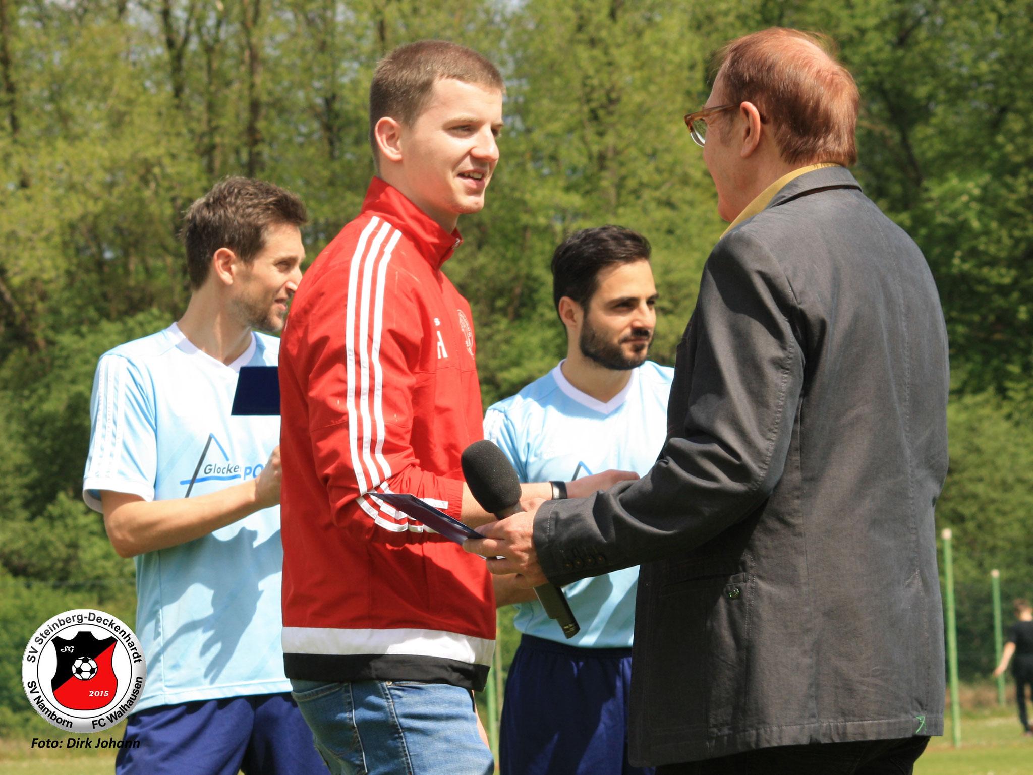 Niko Holzer muß verletzungsbedingt seine Karriere beenden - DANKE für Deine Zeit bei Rot-Weiss und SGNSW
