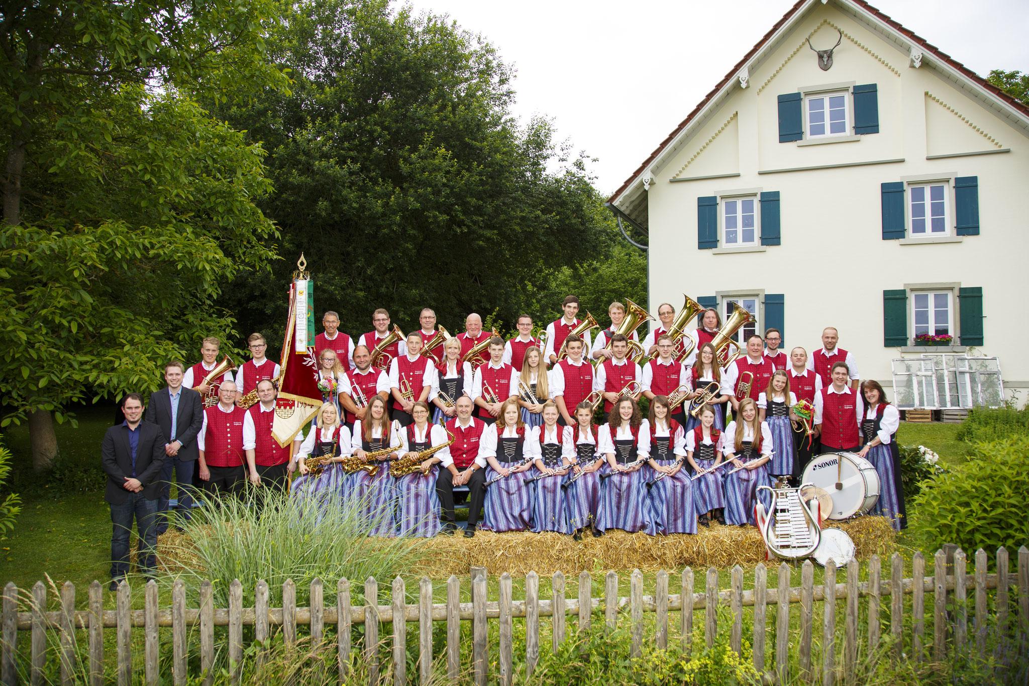 Gruppenbild Forsthaus - 2016