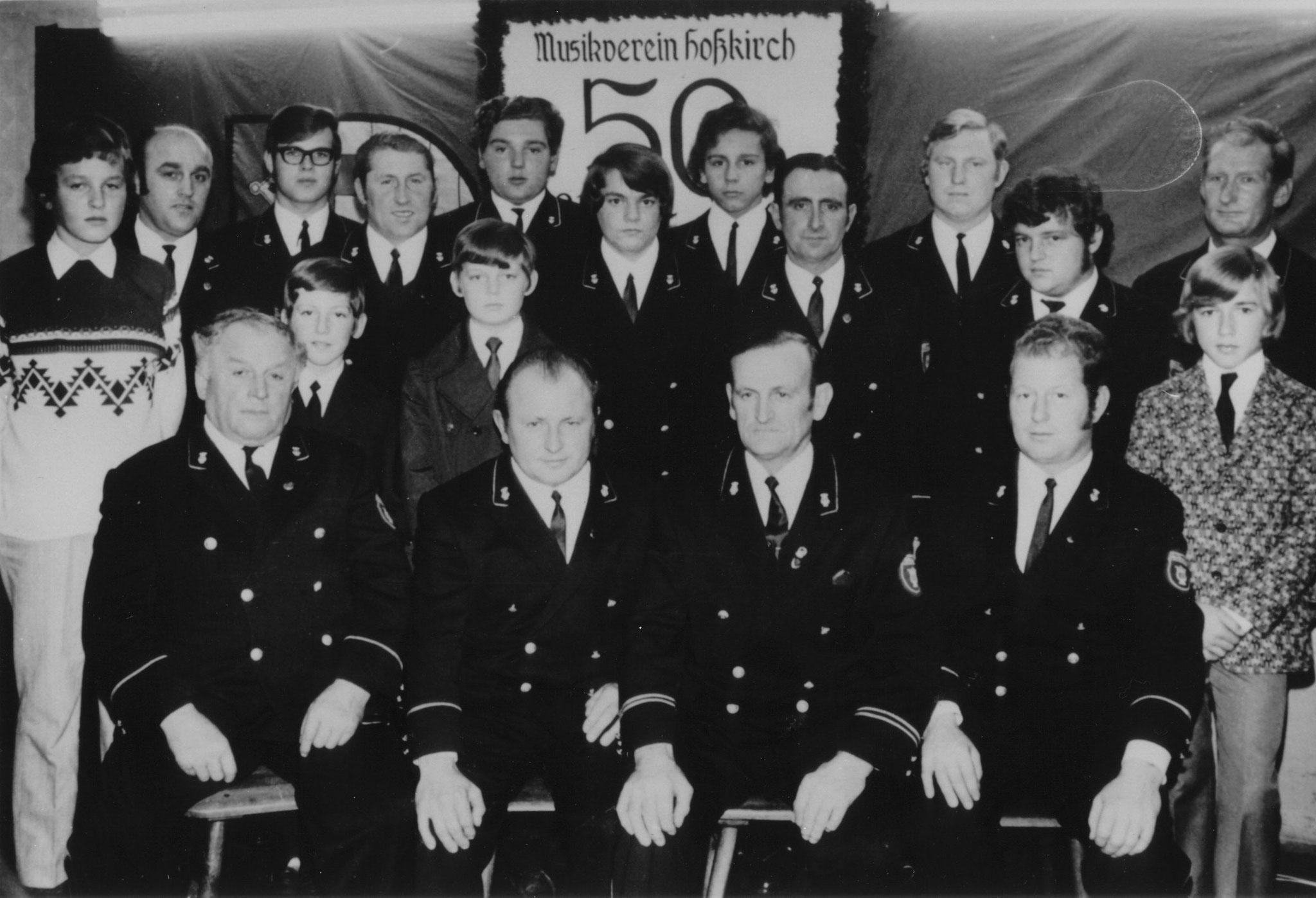 50 Jahre Musikverein Hoßkirch - 1971