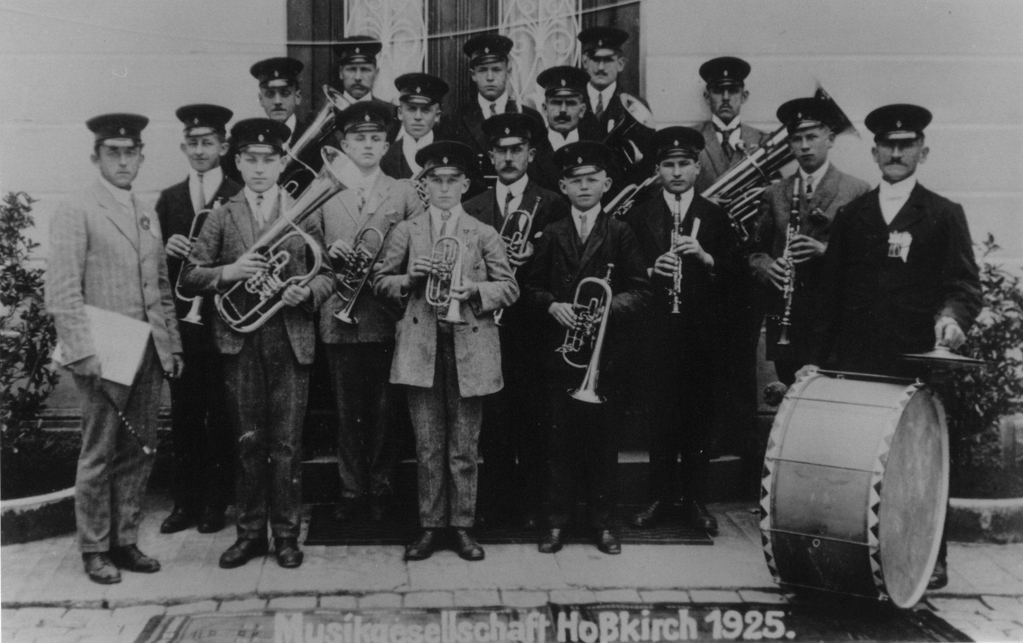 Musikgesellschaft Hoßkirch - 1925