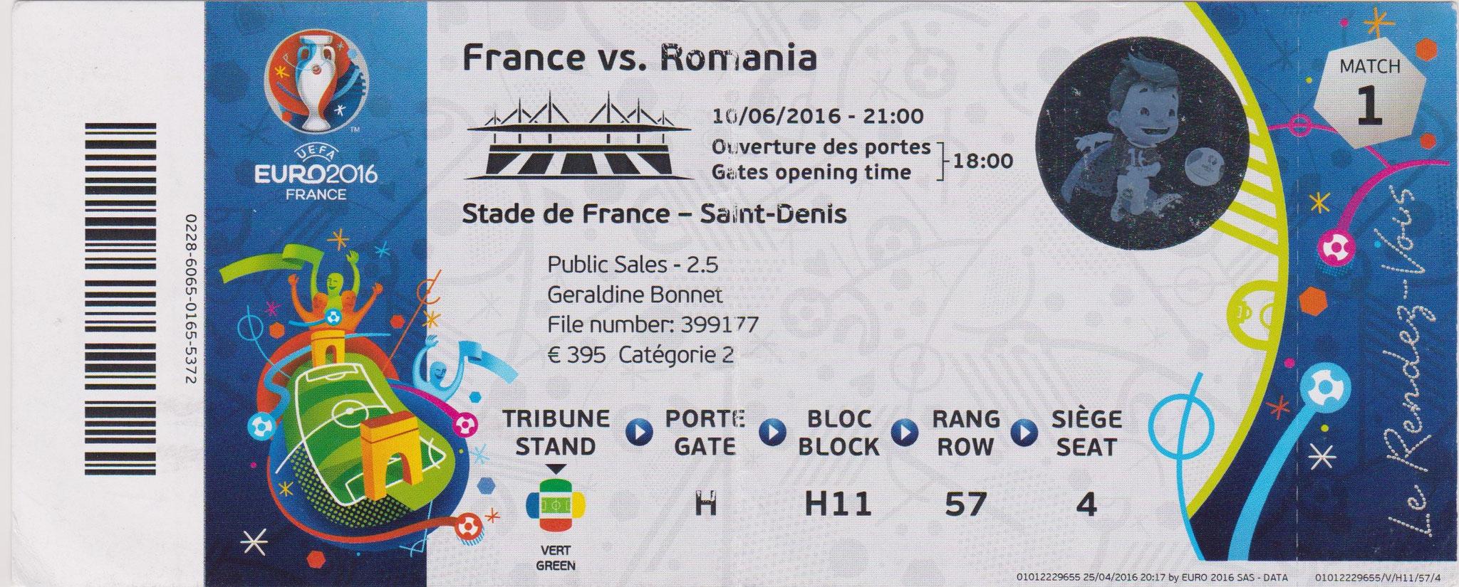 Euro 2016 : France - Roumanie