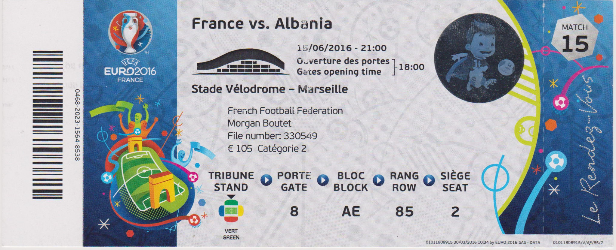 Euro 2016 : France - Albanie