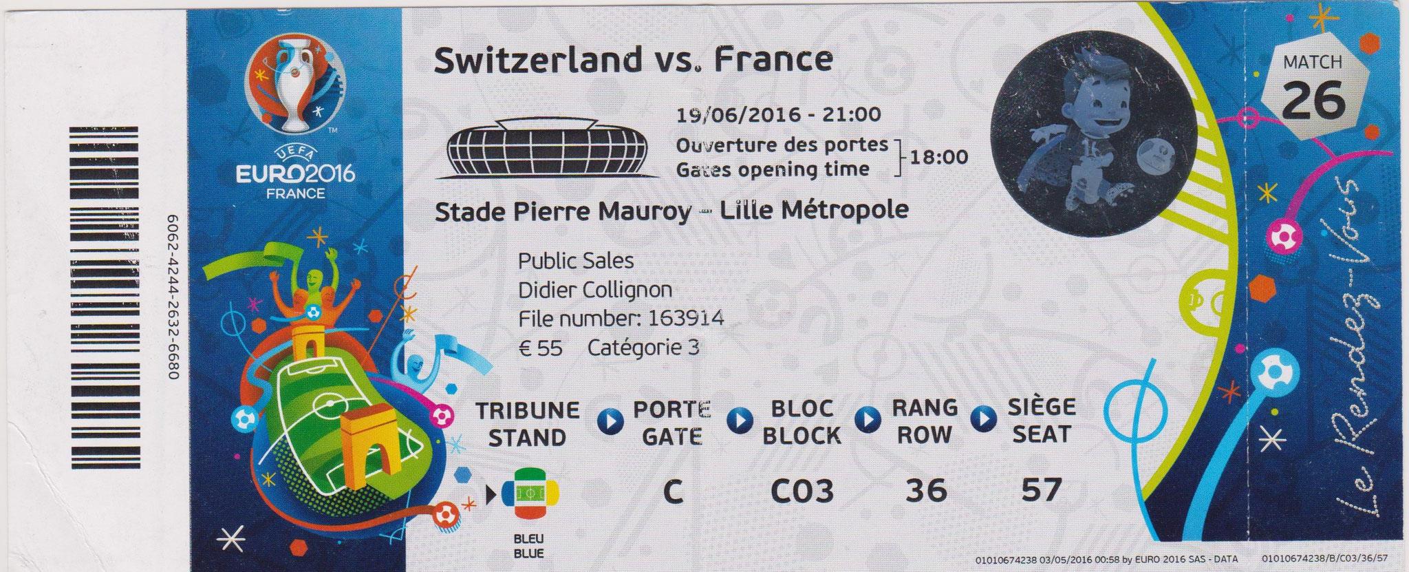 Euro 2016 : France - Suisse