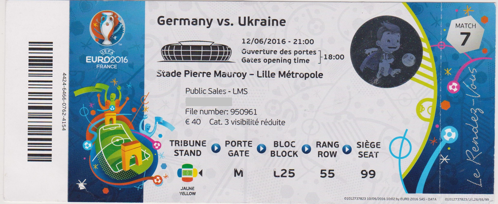 12/06/2016  Lille :  Allemagne  2 - 0  Ukraine  >  Mustafi, Schweinsteiger (Ger) <