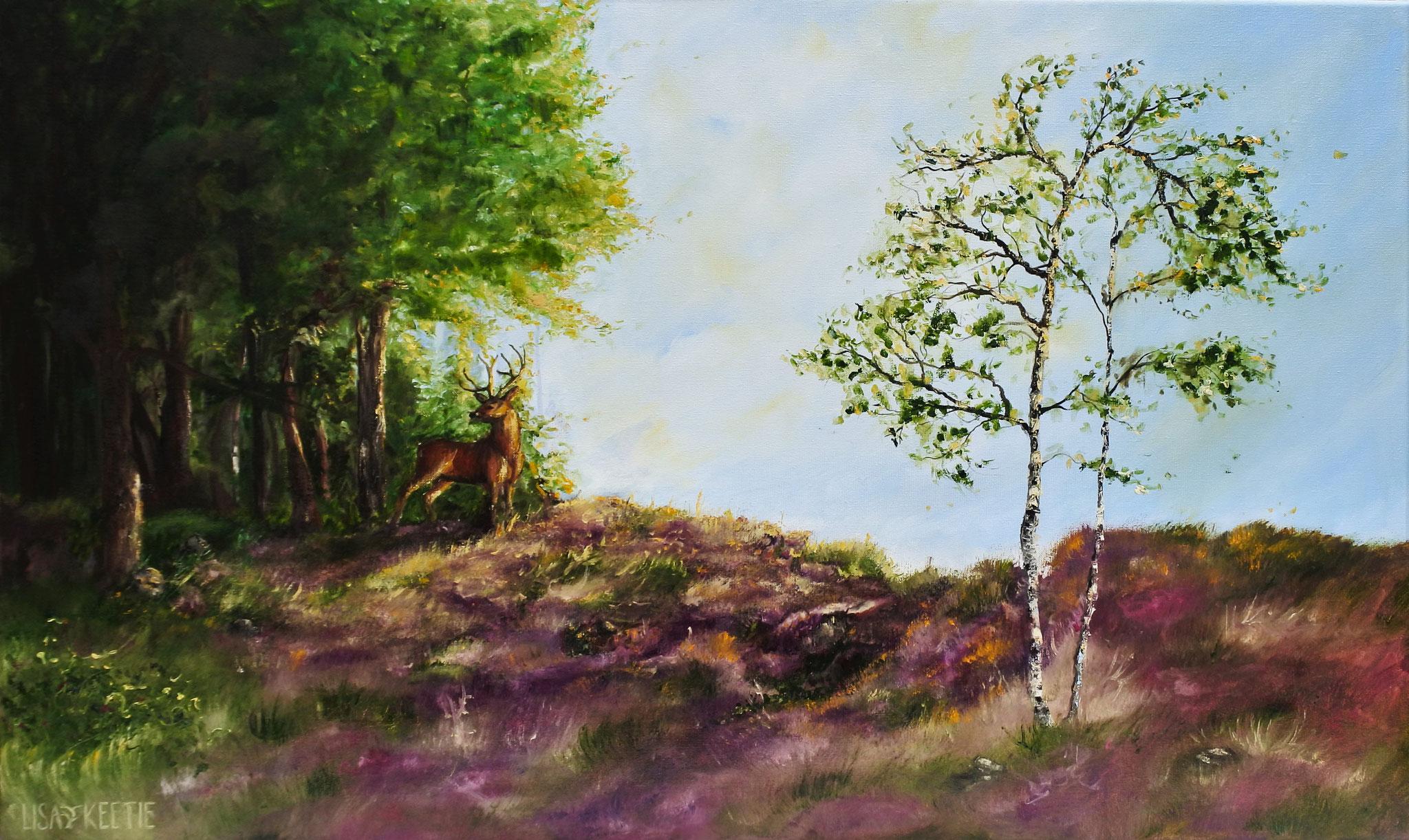 'Veluwe' (2016) Oil on canvas