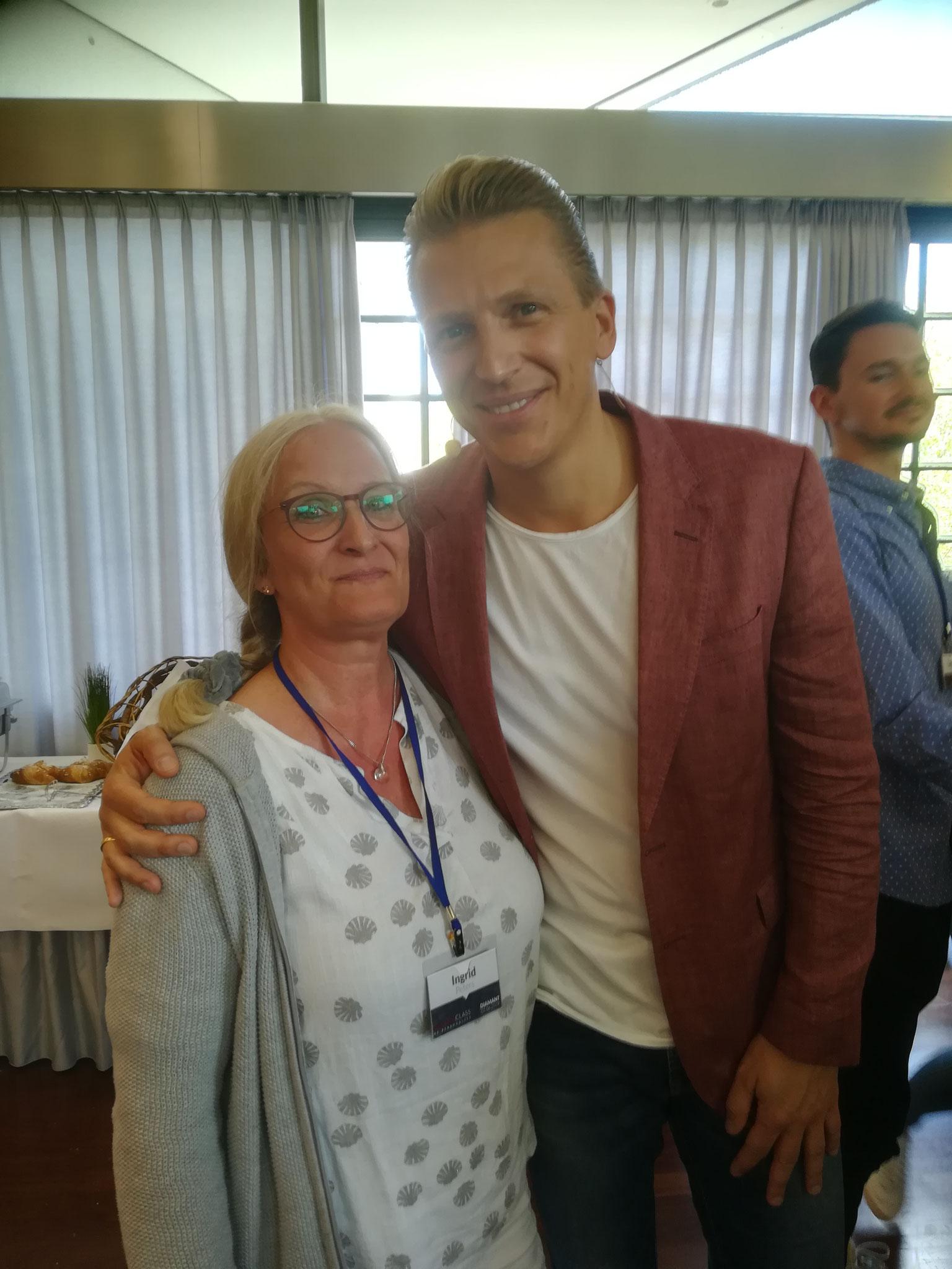 Zwei Wochen später eine lebensfrohe Fortbildung  mit Tobias Beck
