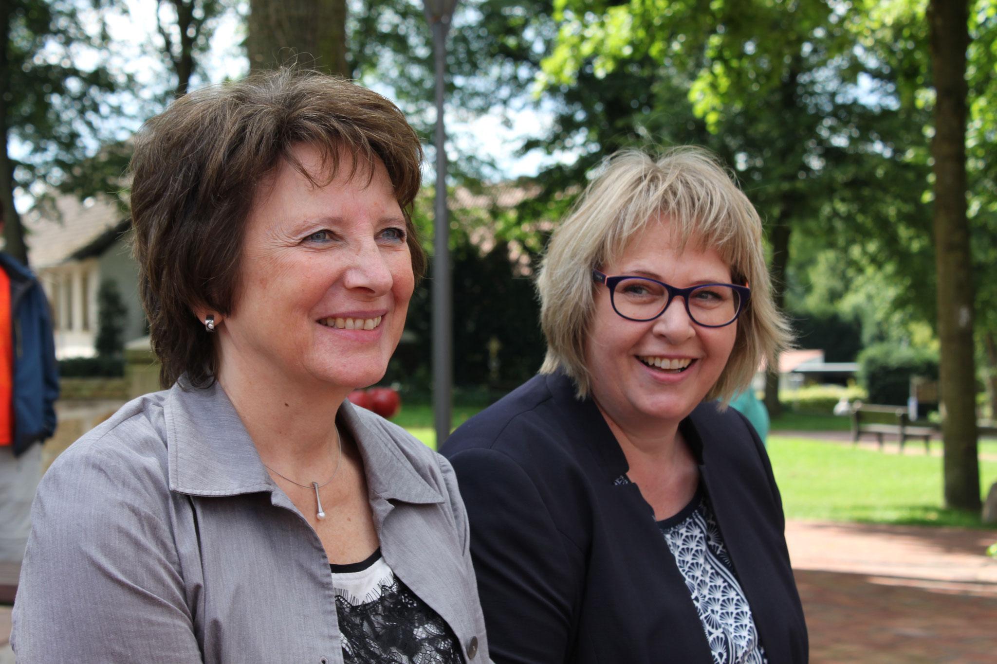 Jutta Olbricht und Antje Schulte-Schoh