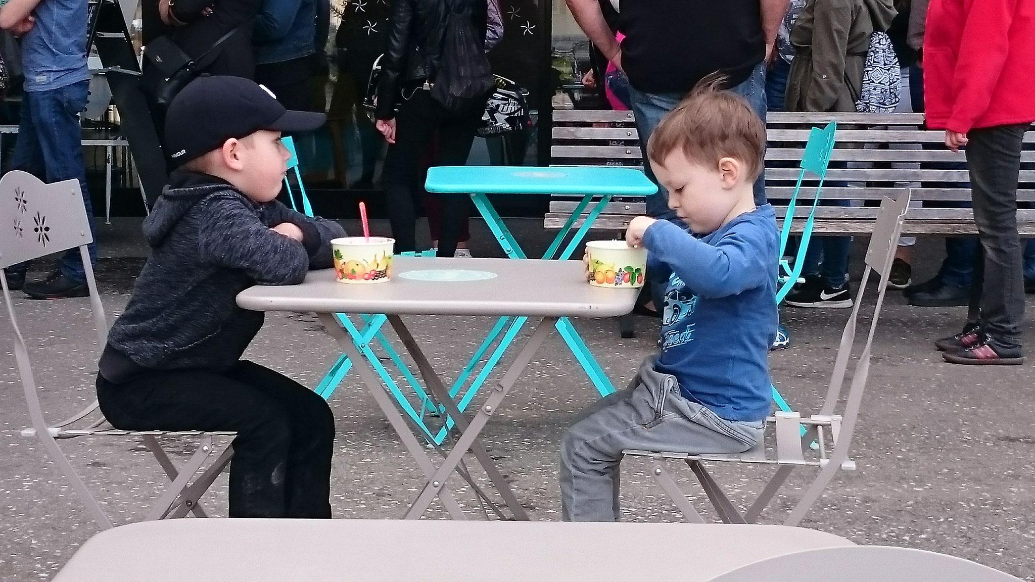 Danach auch gerne mit einem Eis.
