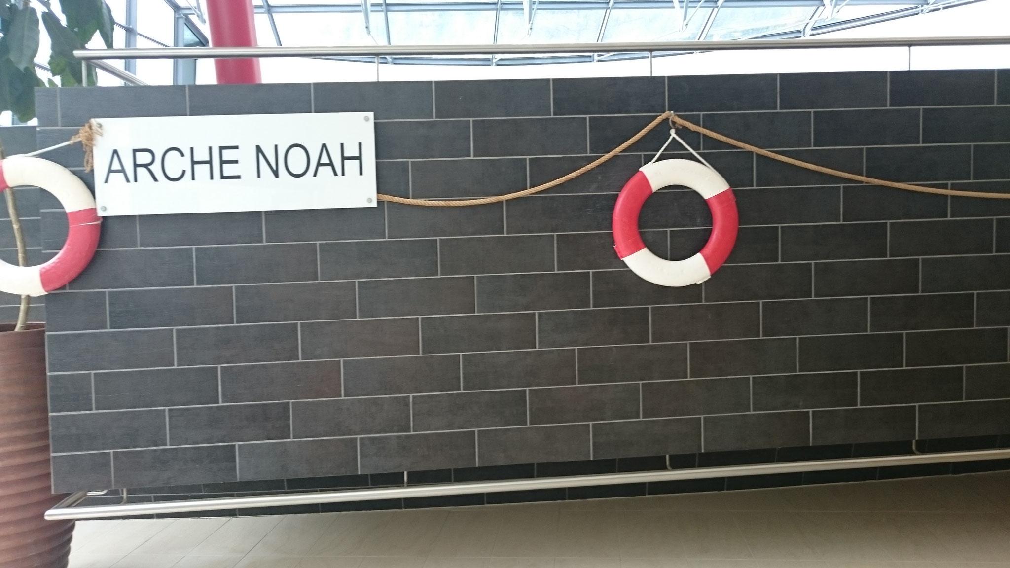 Die Arche Noah, der klein Kinder Bereich