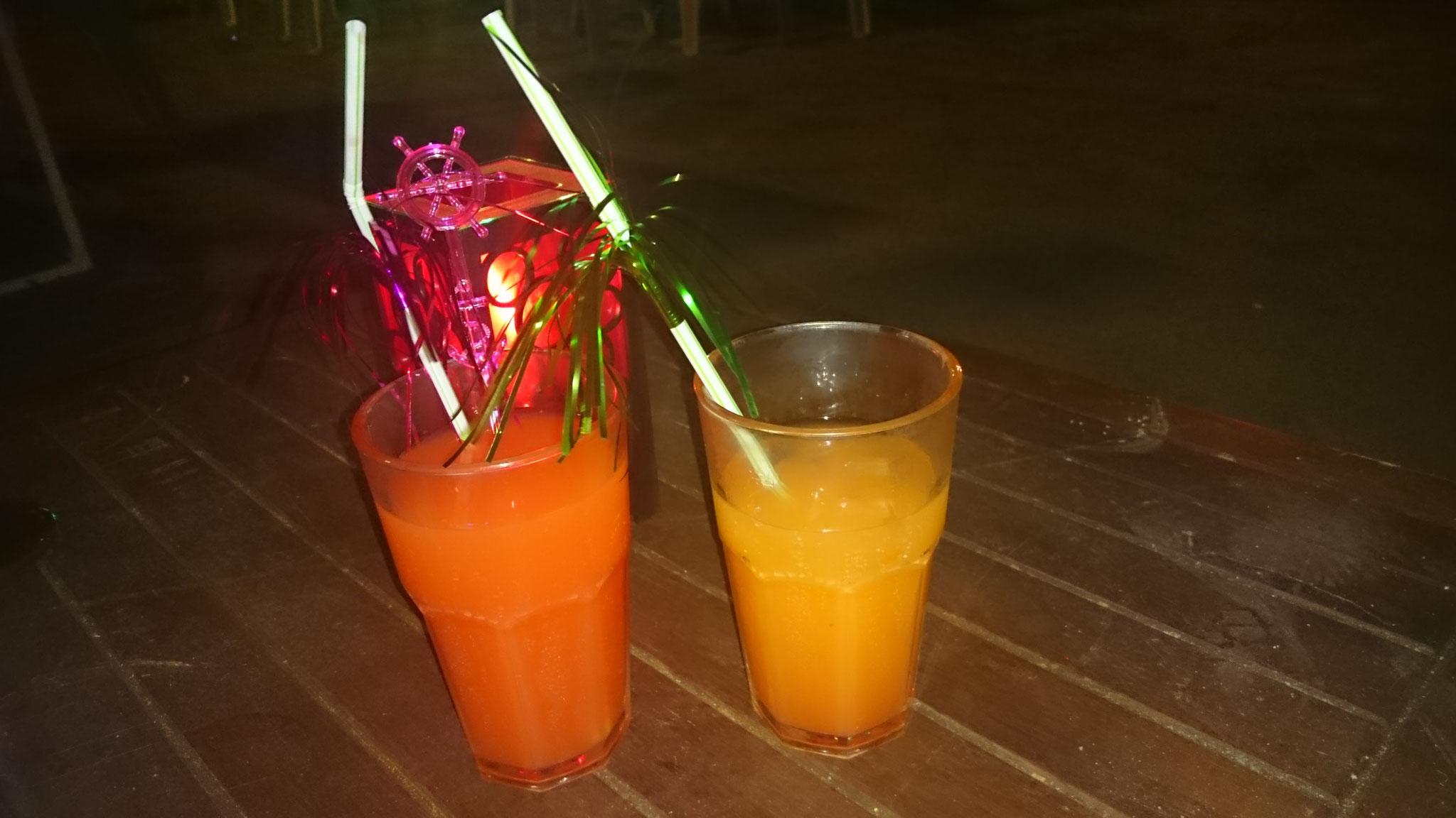 Die Abendlichen Cocktails wurde auch genossen.